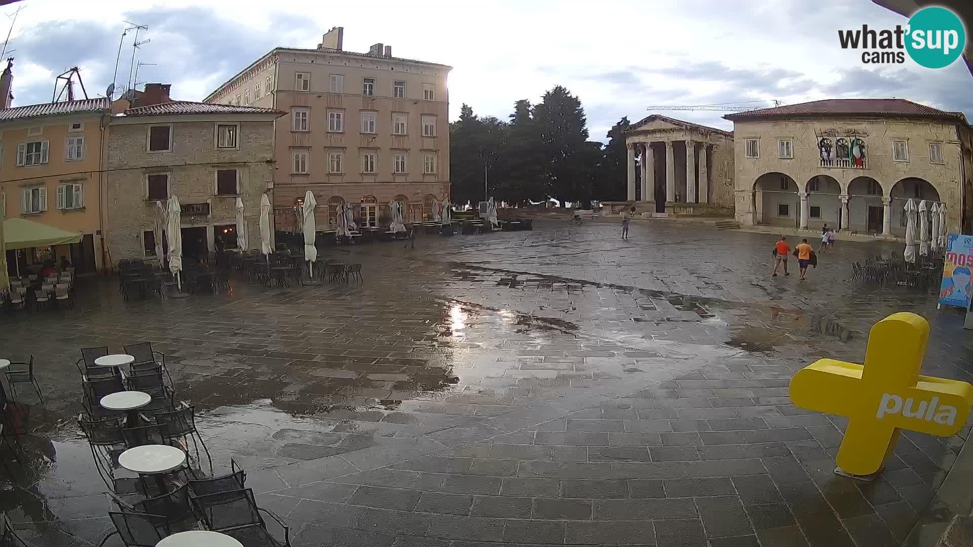 Pola – Forum e Tempio di Augusto
