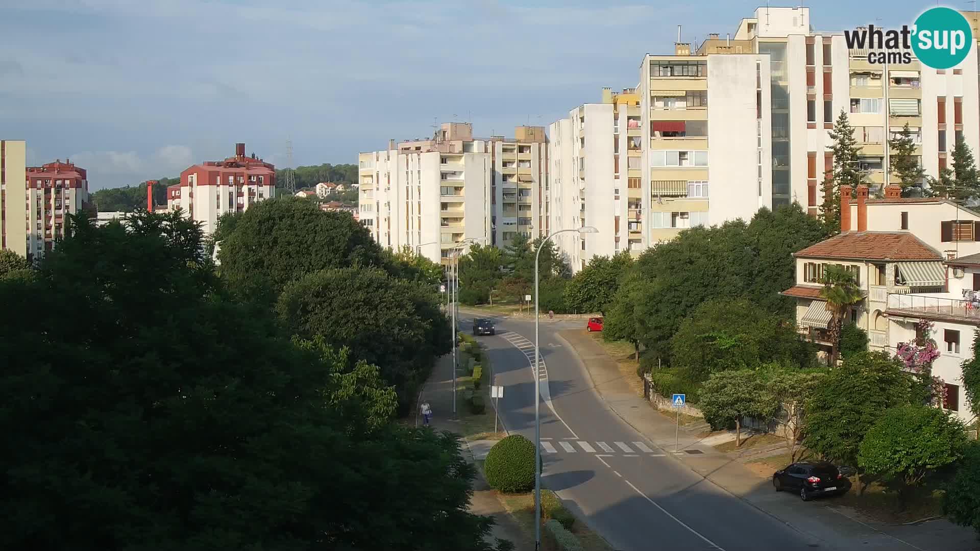 Pula Webcam – Koper Straße – Live Cam Istrien