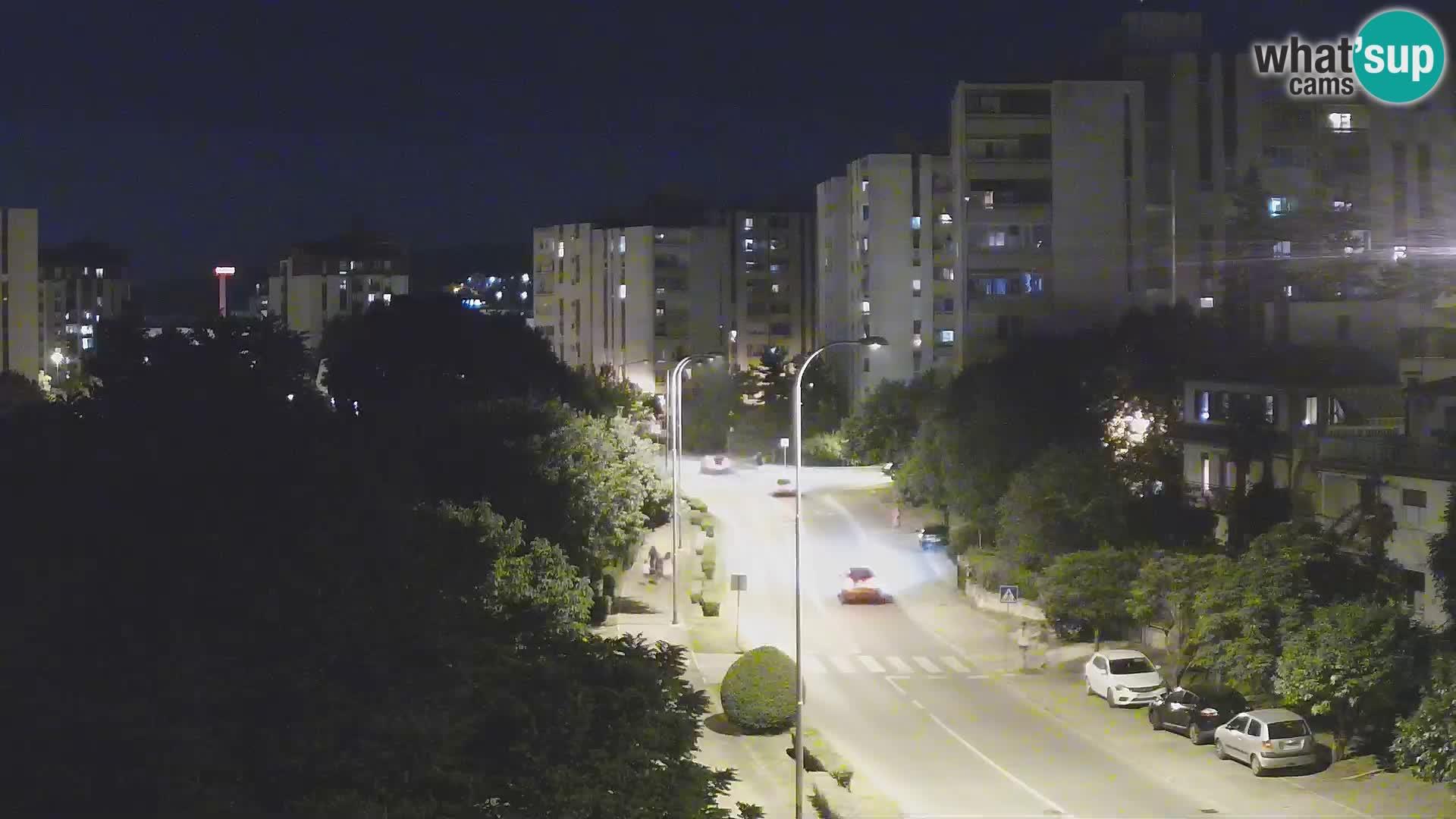 Webcam Pula – Rue Koper – Caméra en direct Istrie