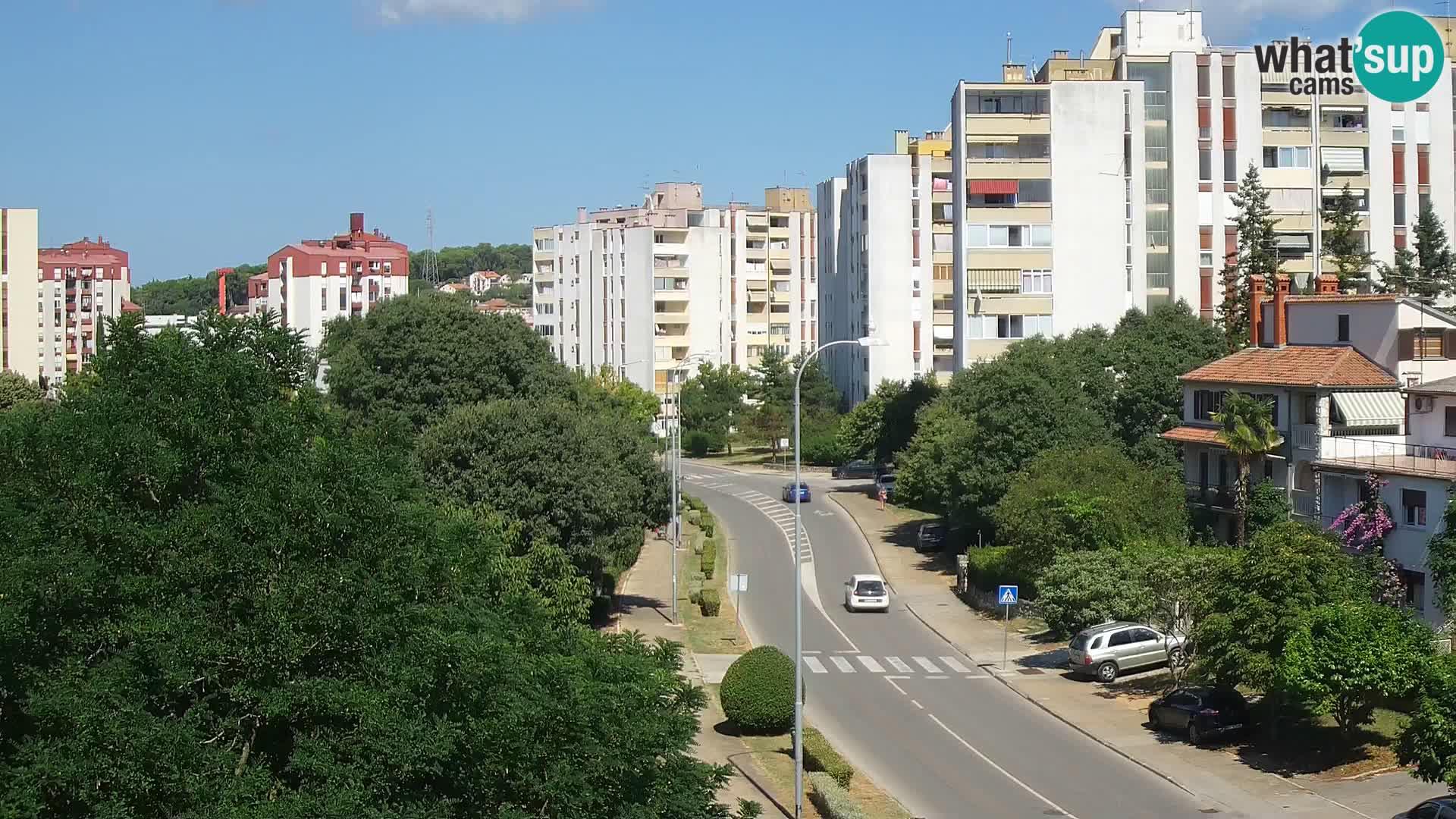 Cámara web Pula – Koper street – cámara en vivo Istria