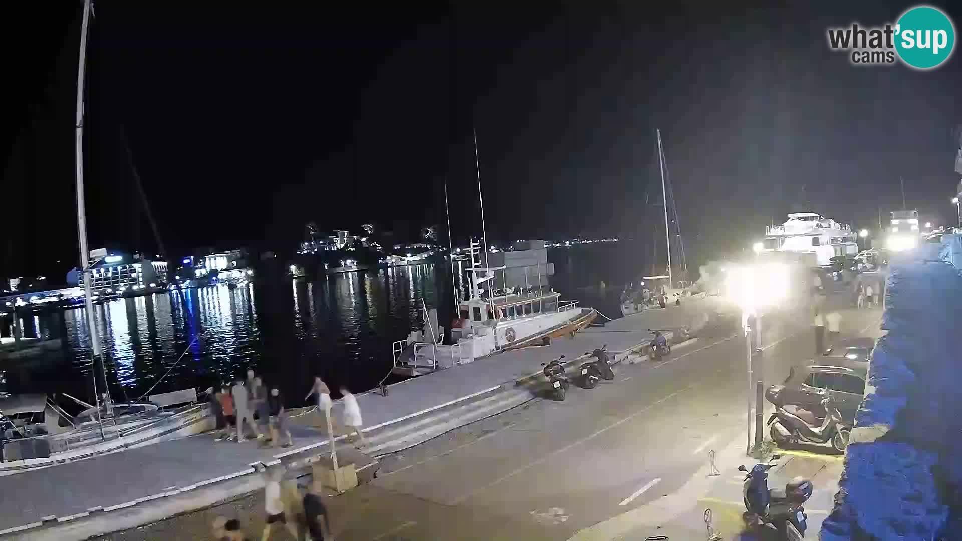 Web kamera Rab – Obala Petra Krešimira
