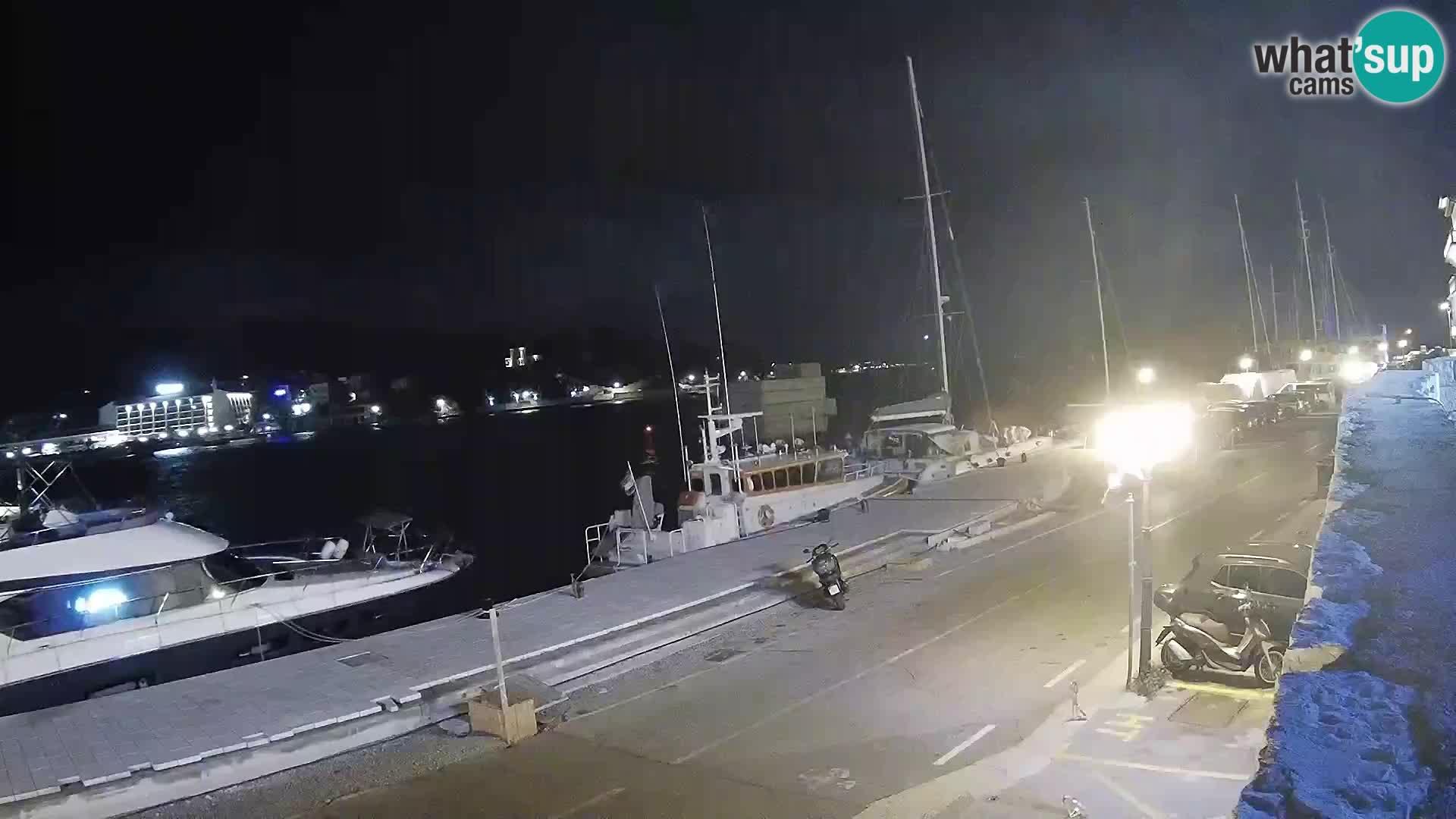 Webcam Rab – Obala Petra Krešimira
