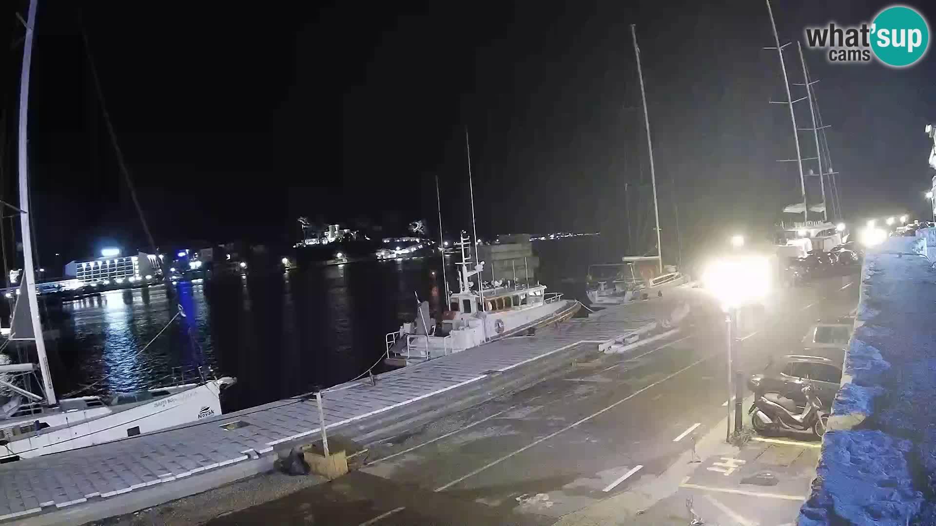 Spletna kamera Rab – Obala Petra Krešimira