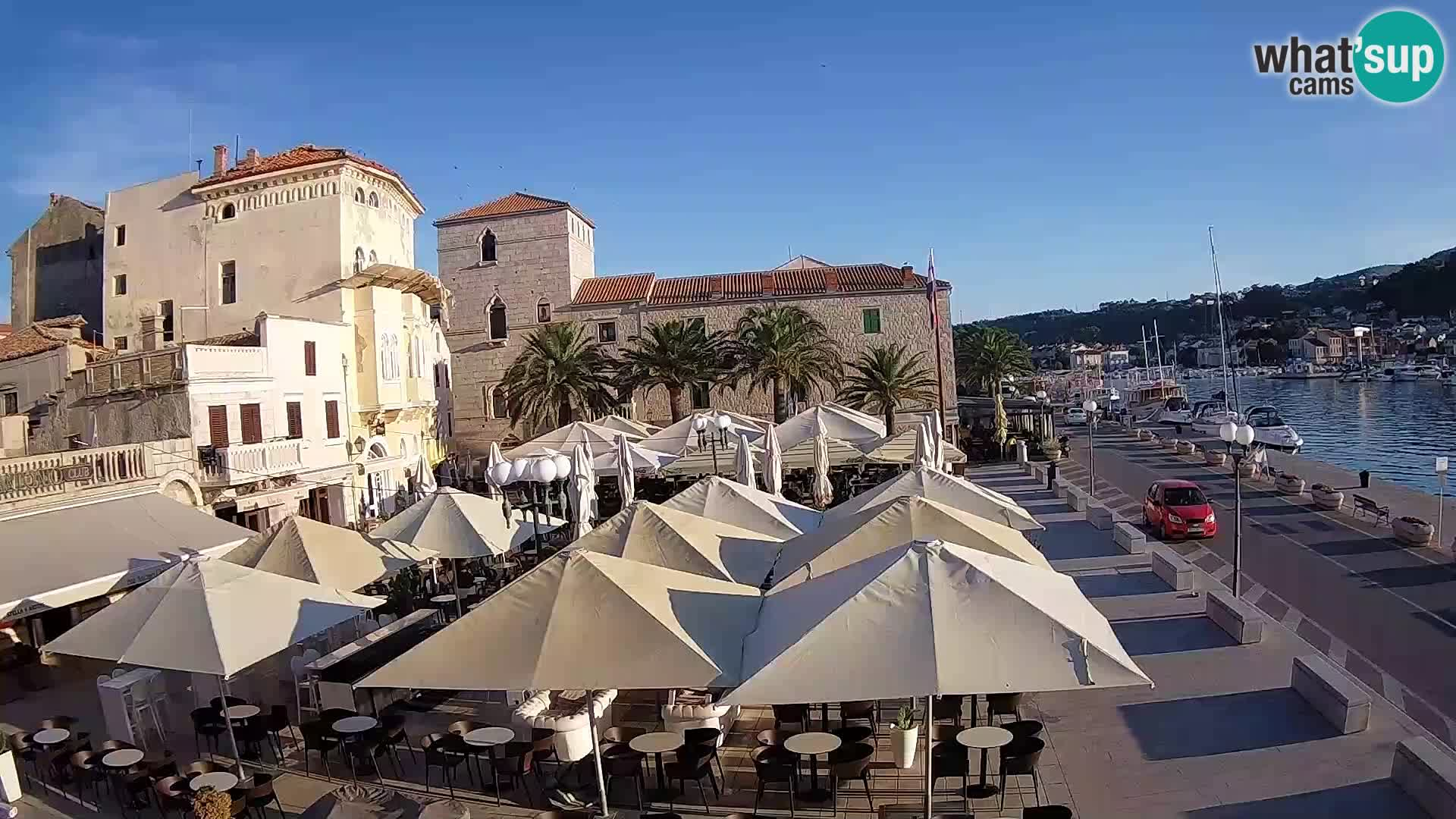 Camera en vivo Rab – Obala Petra Krešimira