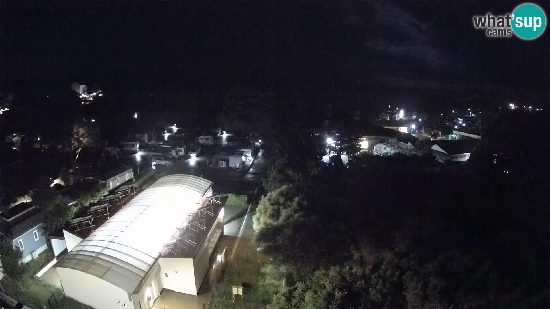 Banjol spletna kamera Rab – Deltas Apartmani