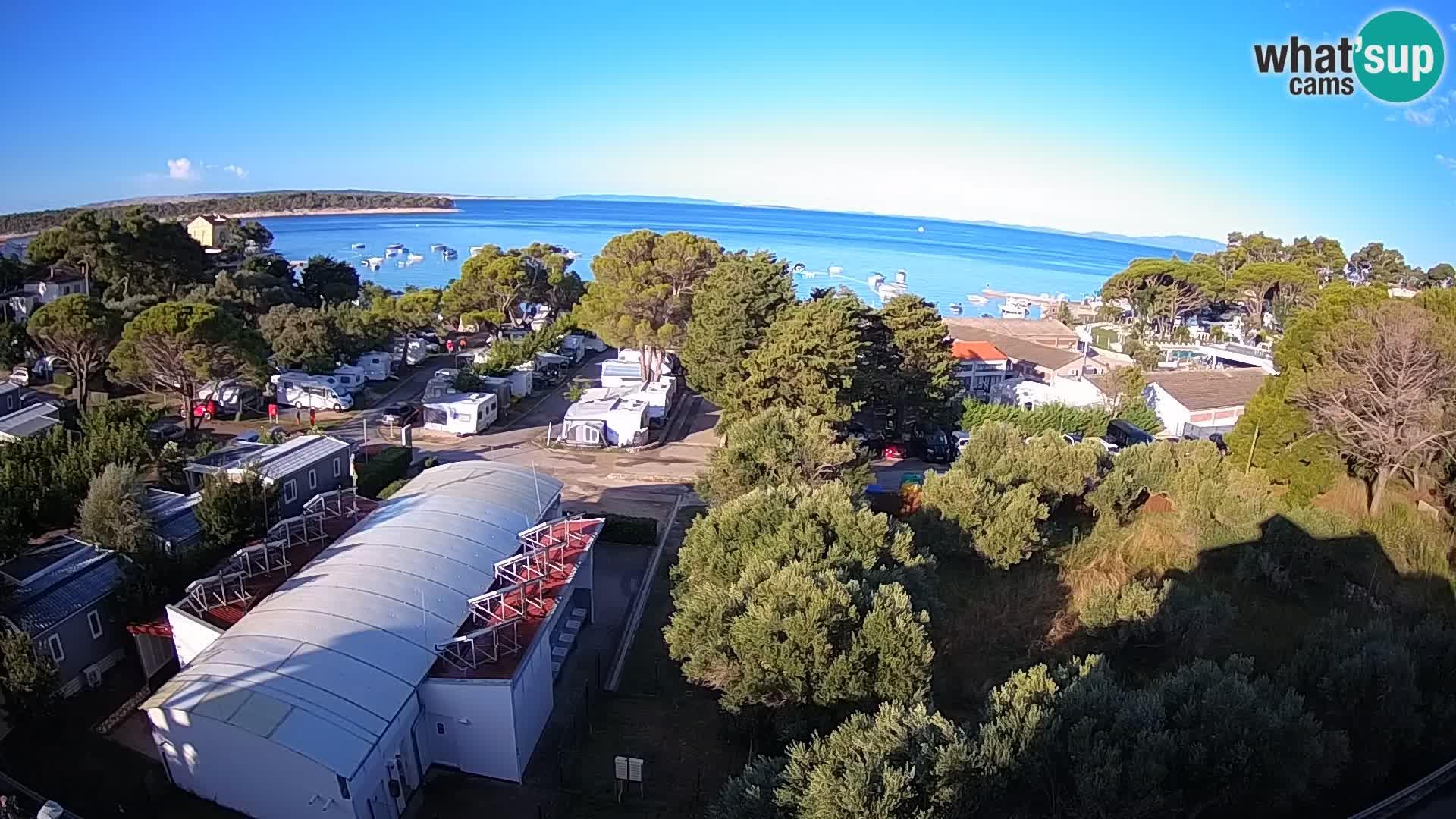 Banjol Webcam Rab island – Deltas Apartments