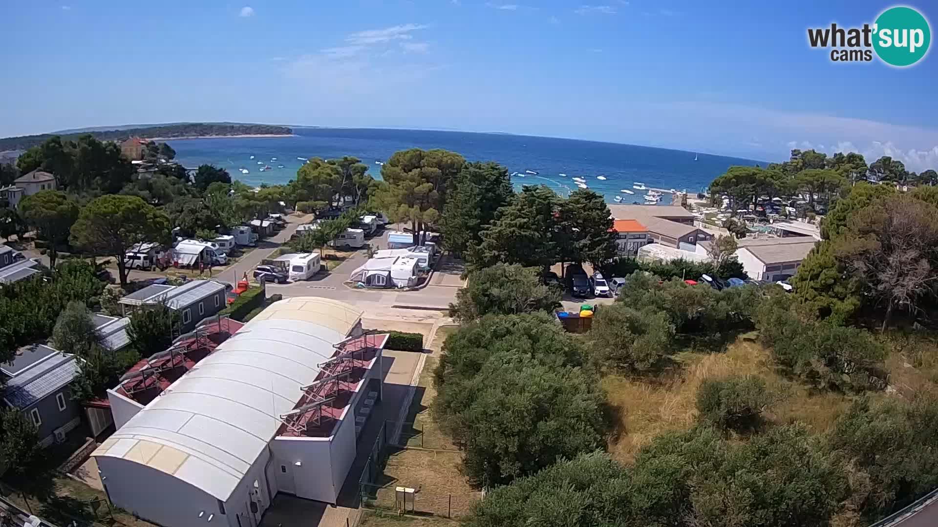 Banjol web kamera Rab – Deltas Apartmani