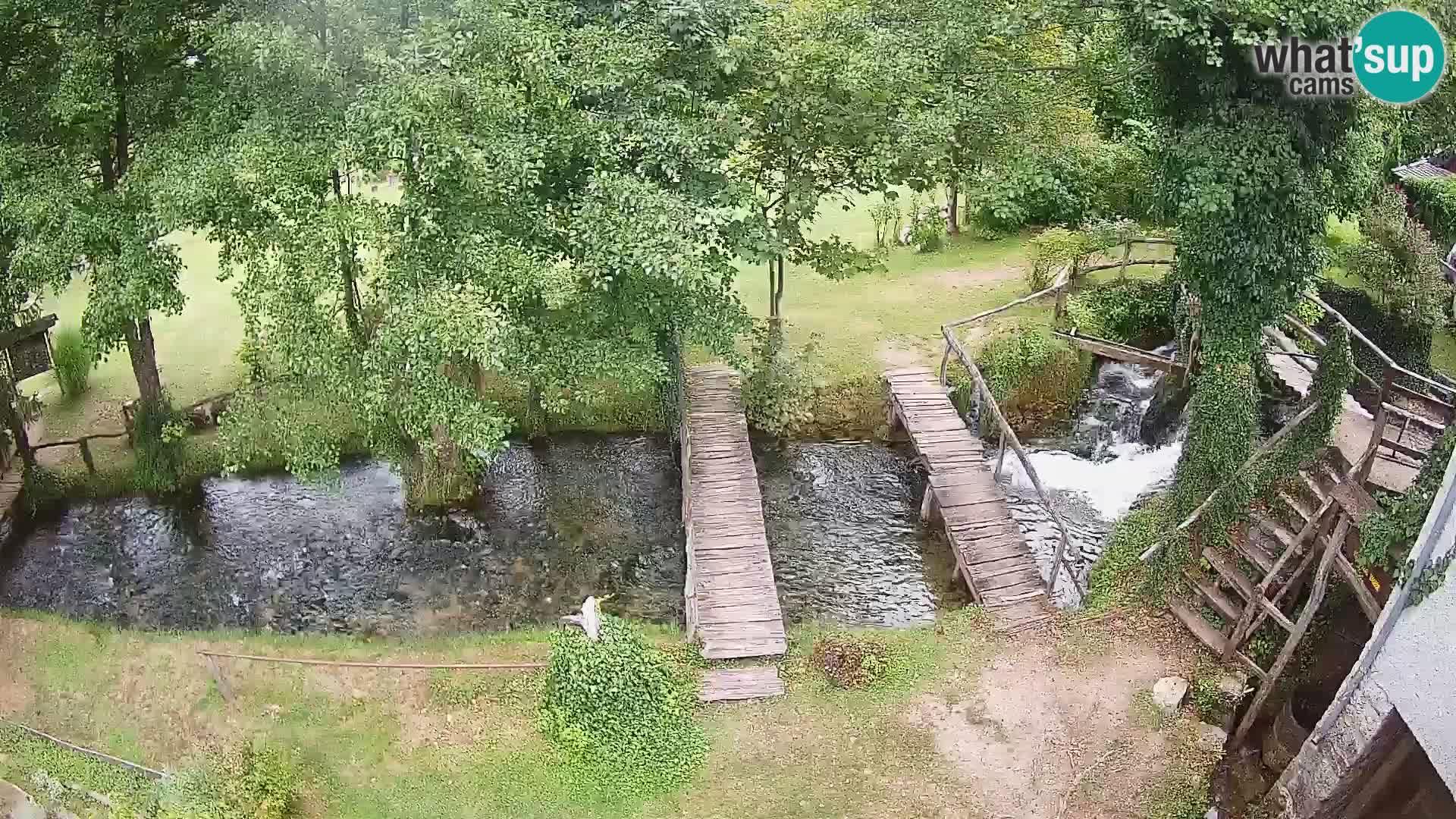 Laghi sul fiume Slunjčica a Rastoke