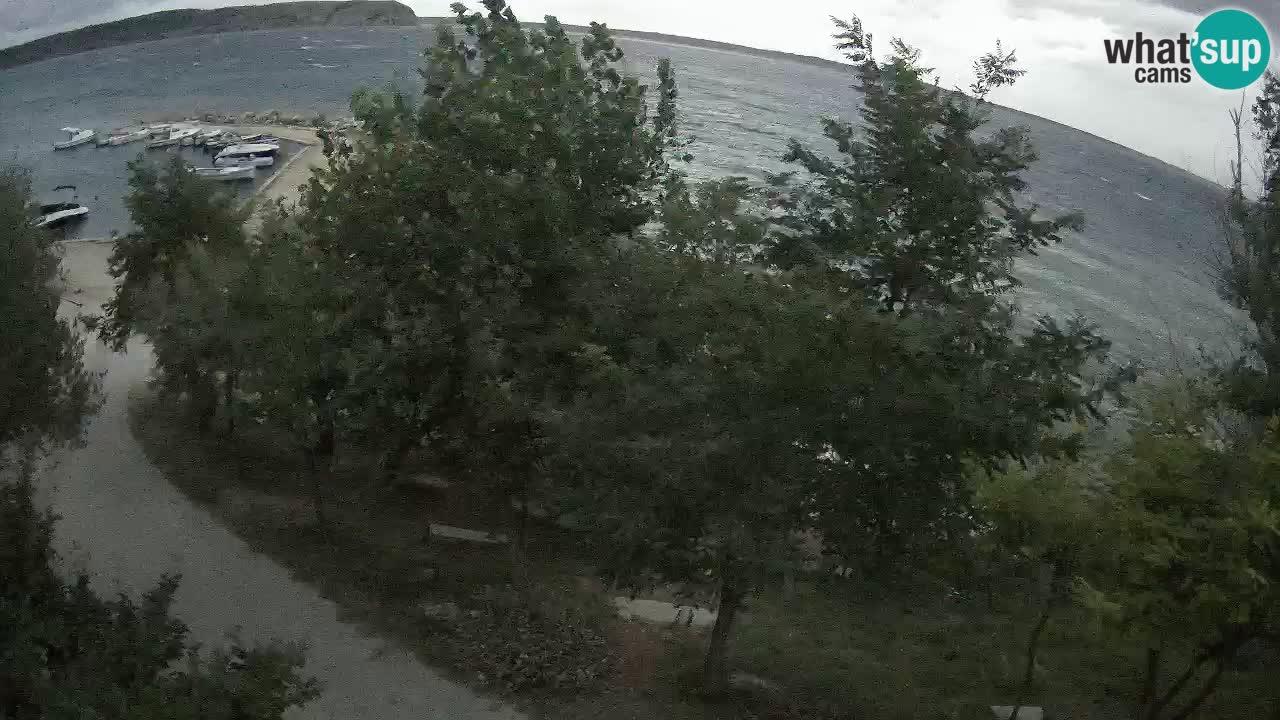 Camping Odmoree webcam Ražanac – Dalmatia