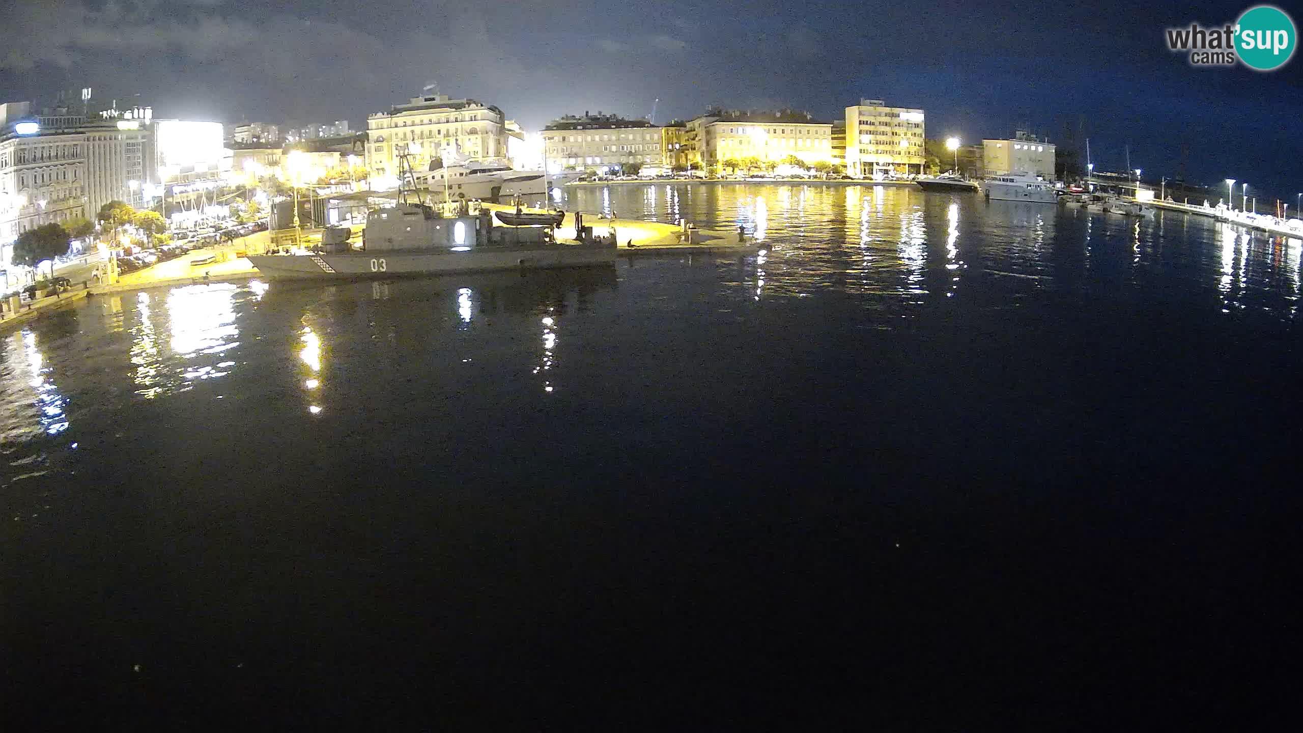 Botel Marina – Fiume live webcam