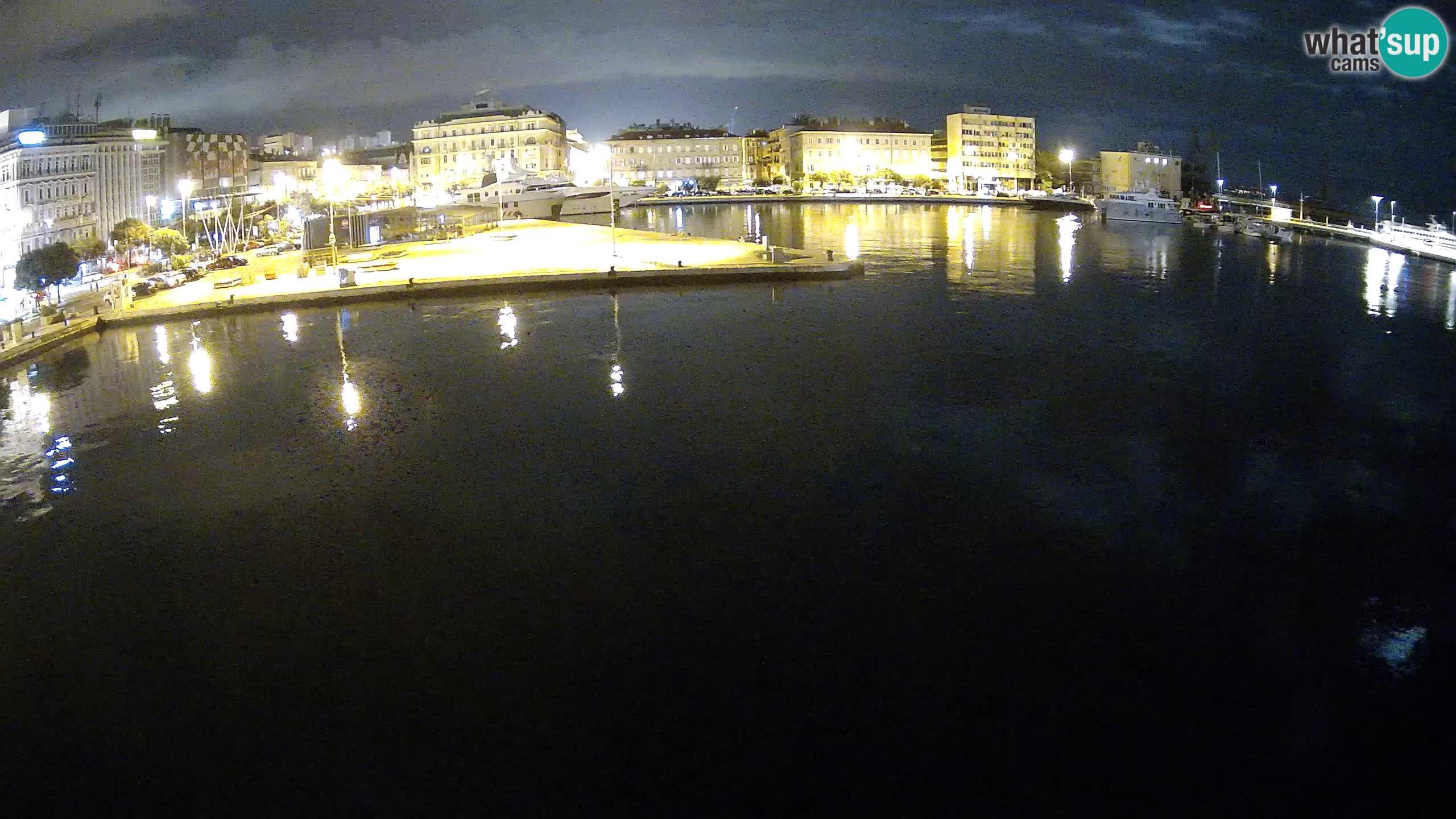 Botel Marina – Rijeka webcam