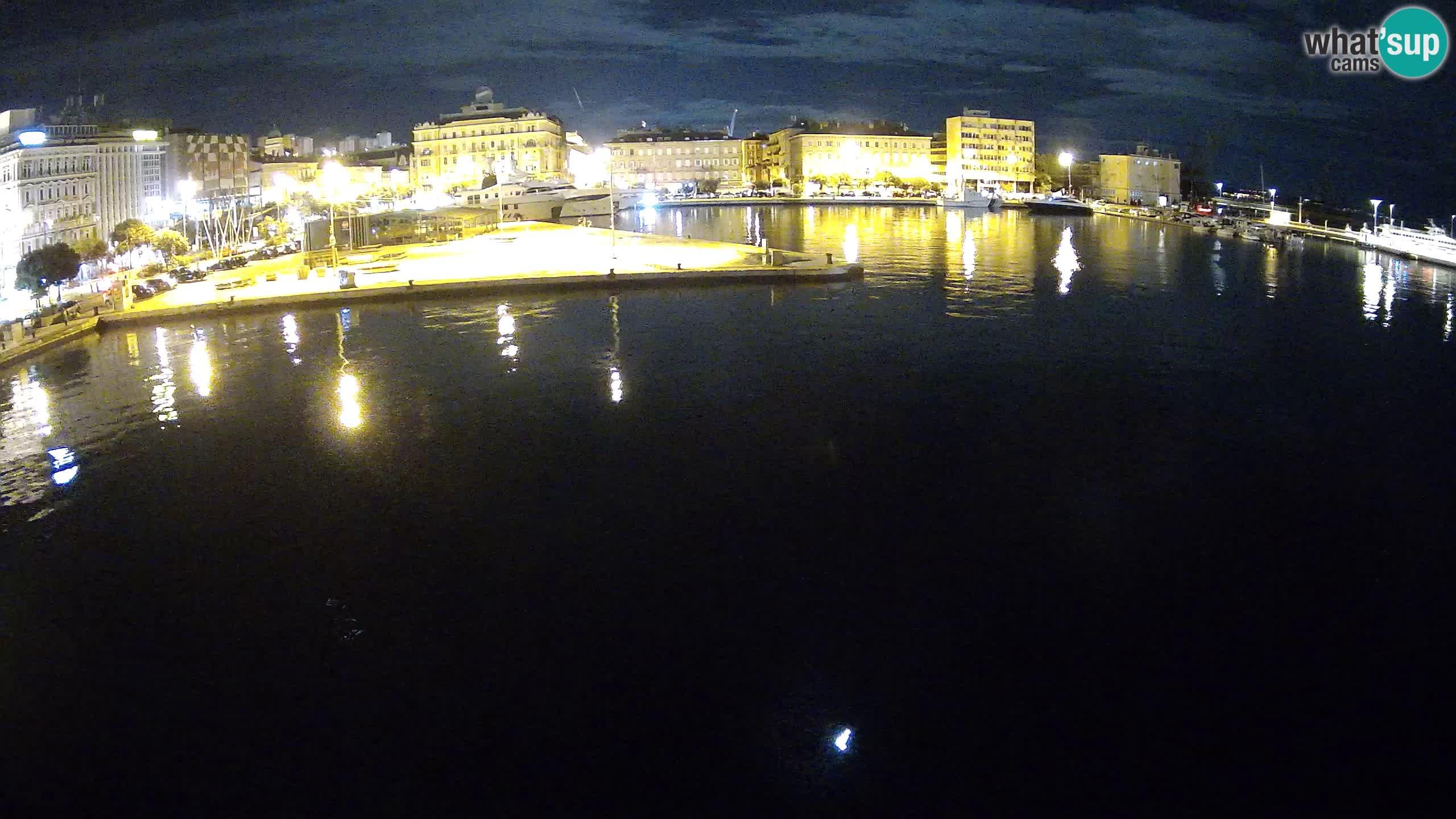 Botel Marina cámara web en vivo Rijeka