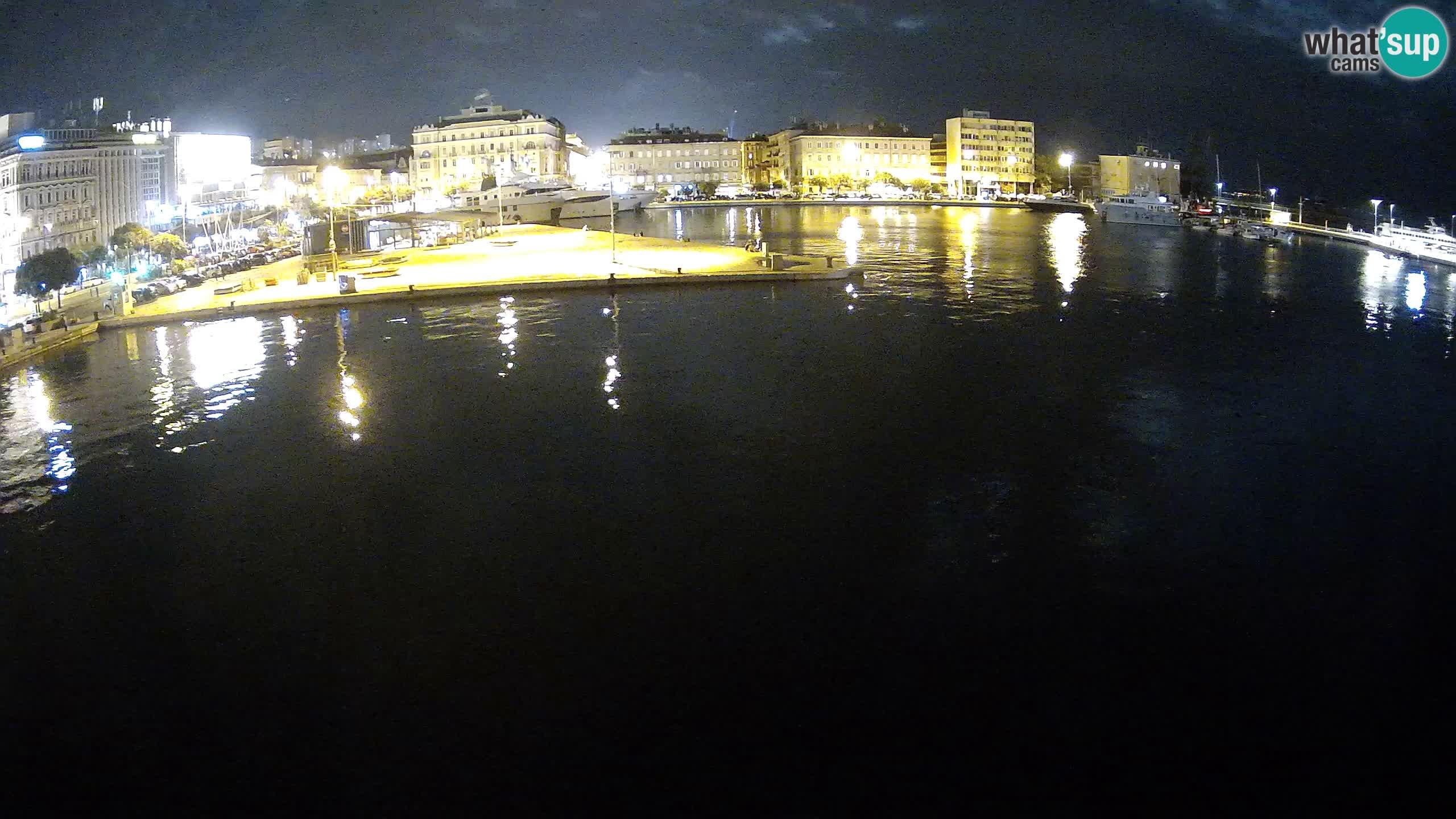 Rijeka – Botel Marina webcam en direct