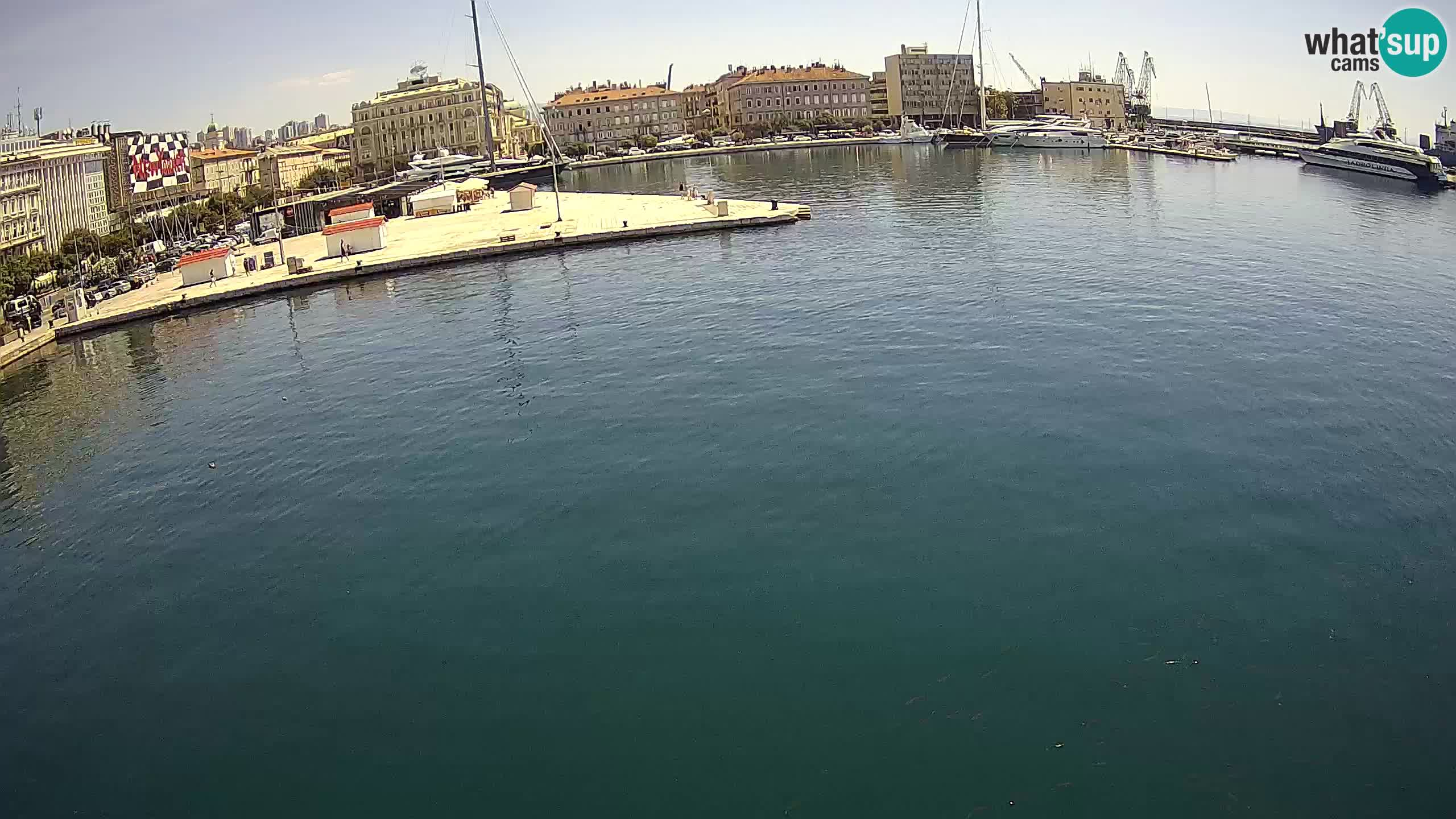 Rijeka – Botel Marina web kamera