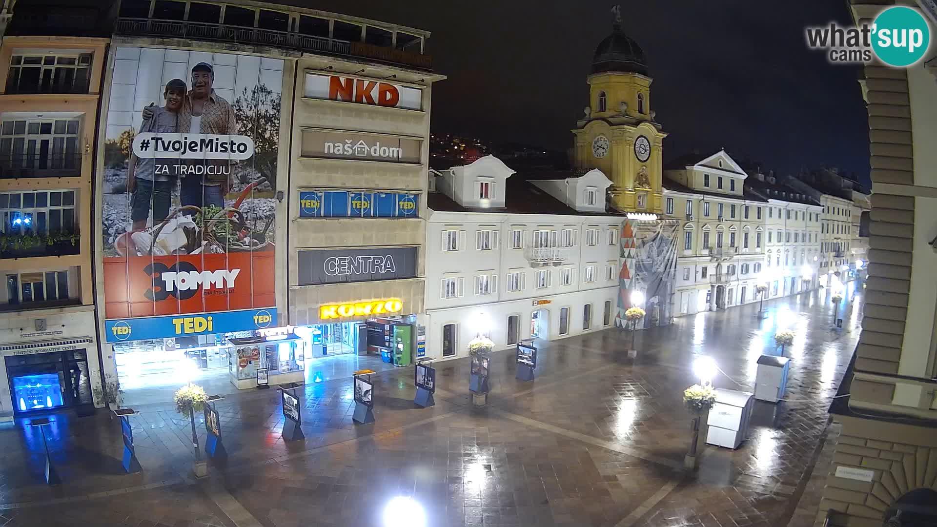 Rijeka – City Tower and Clock