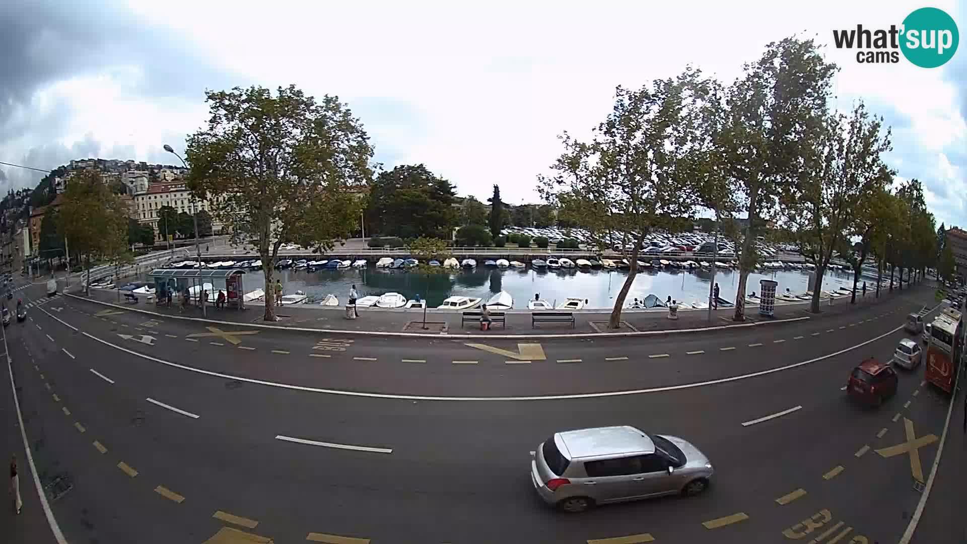 Rijeka –  La vue de Trsat et Sušak