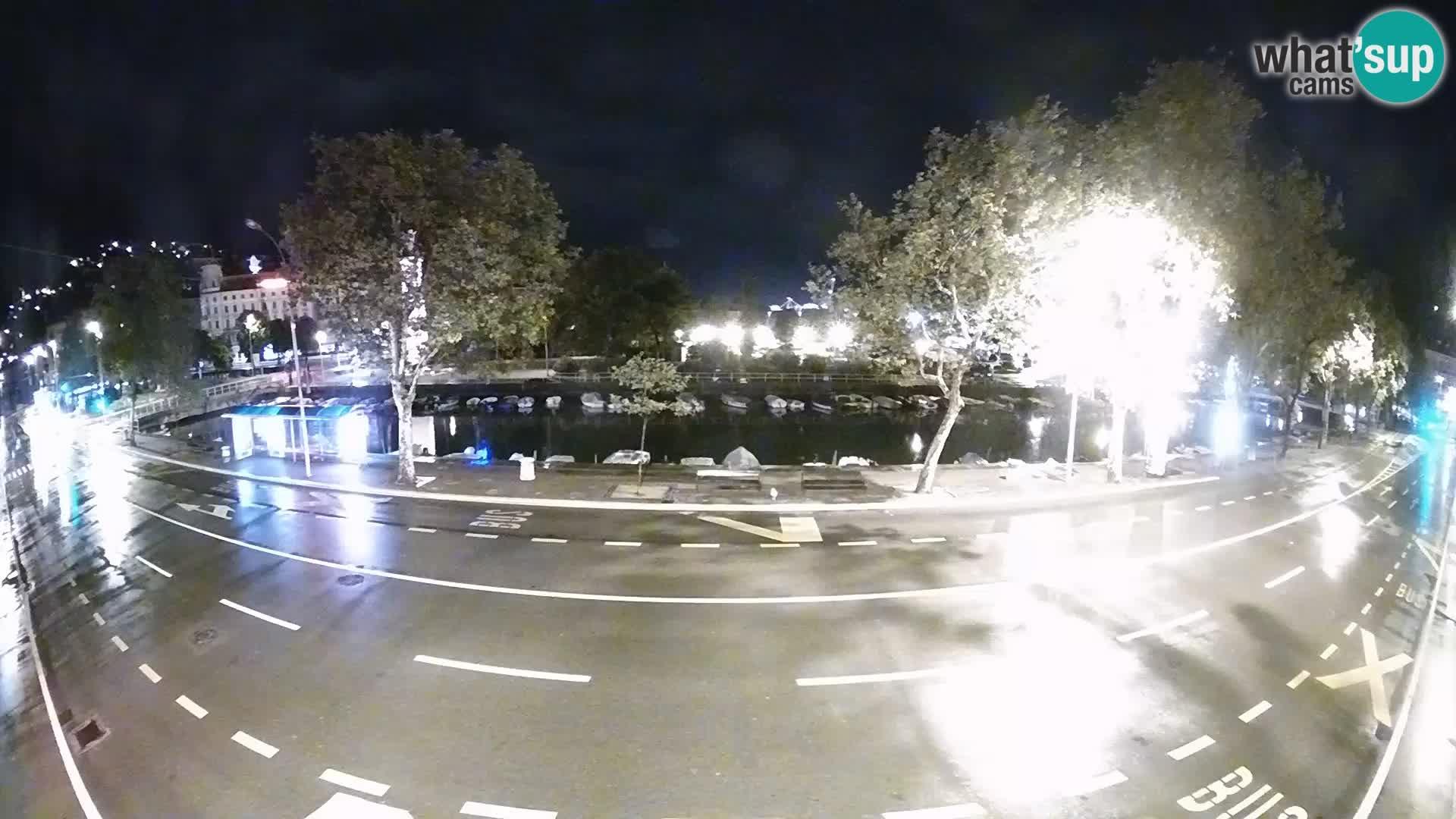Rijeka – Der Blick auf Trsat und Sušak