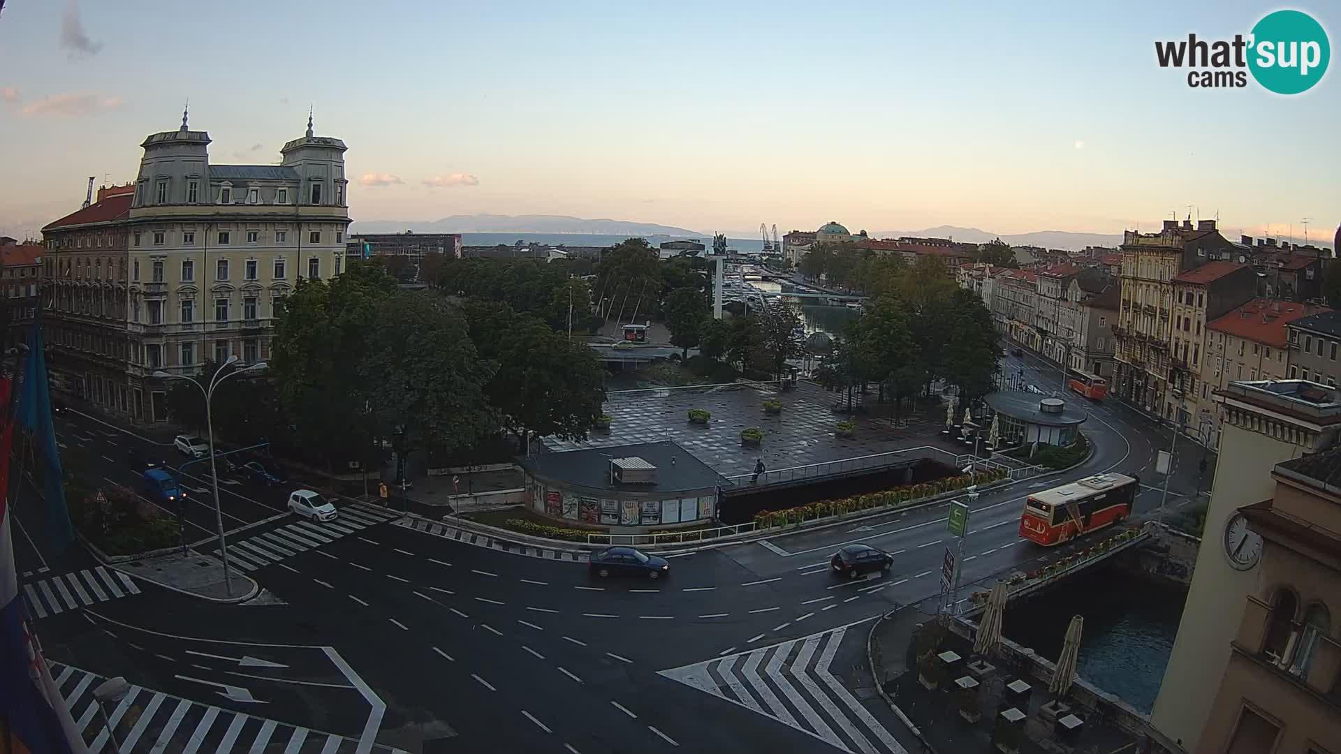 Rijeka –  Rječina, Fiumara and Tito square