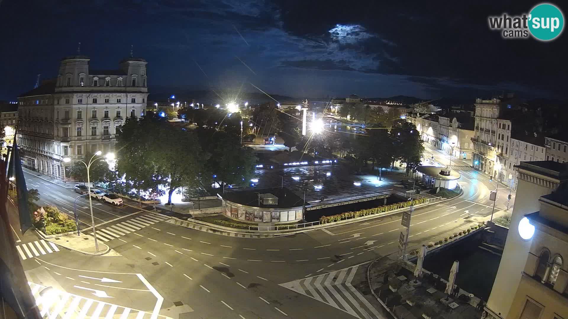 Rijeka – Titov trg i Fiumara