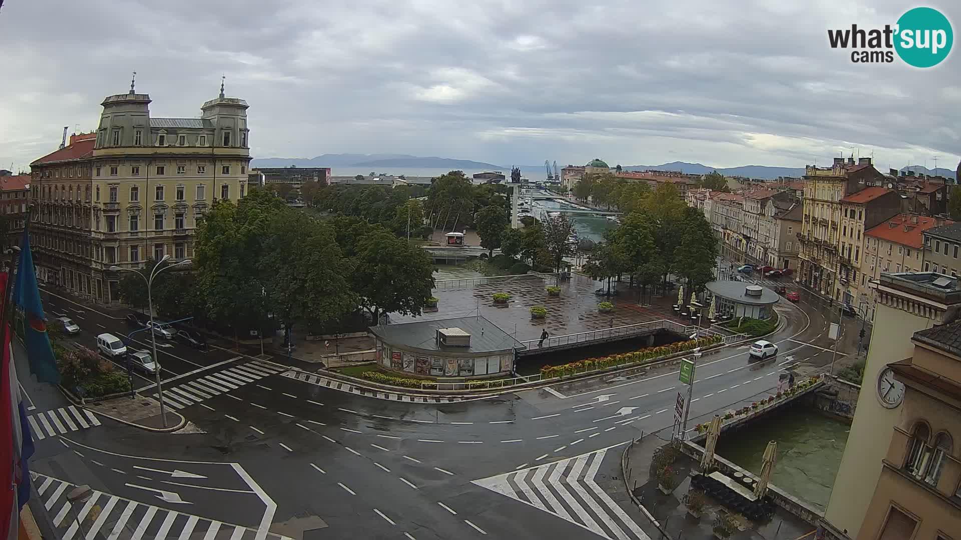 Fiume – Piazza Tito e Fiumara