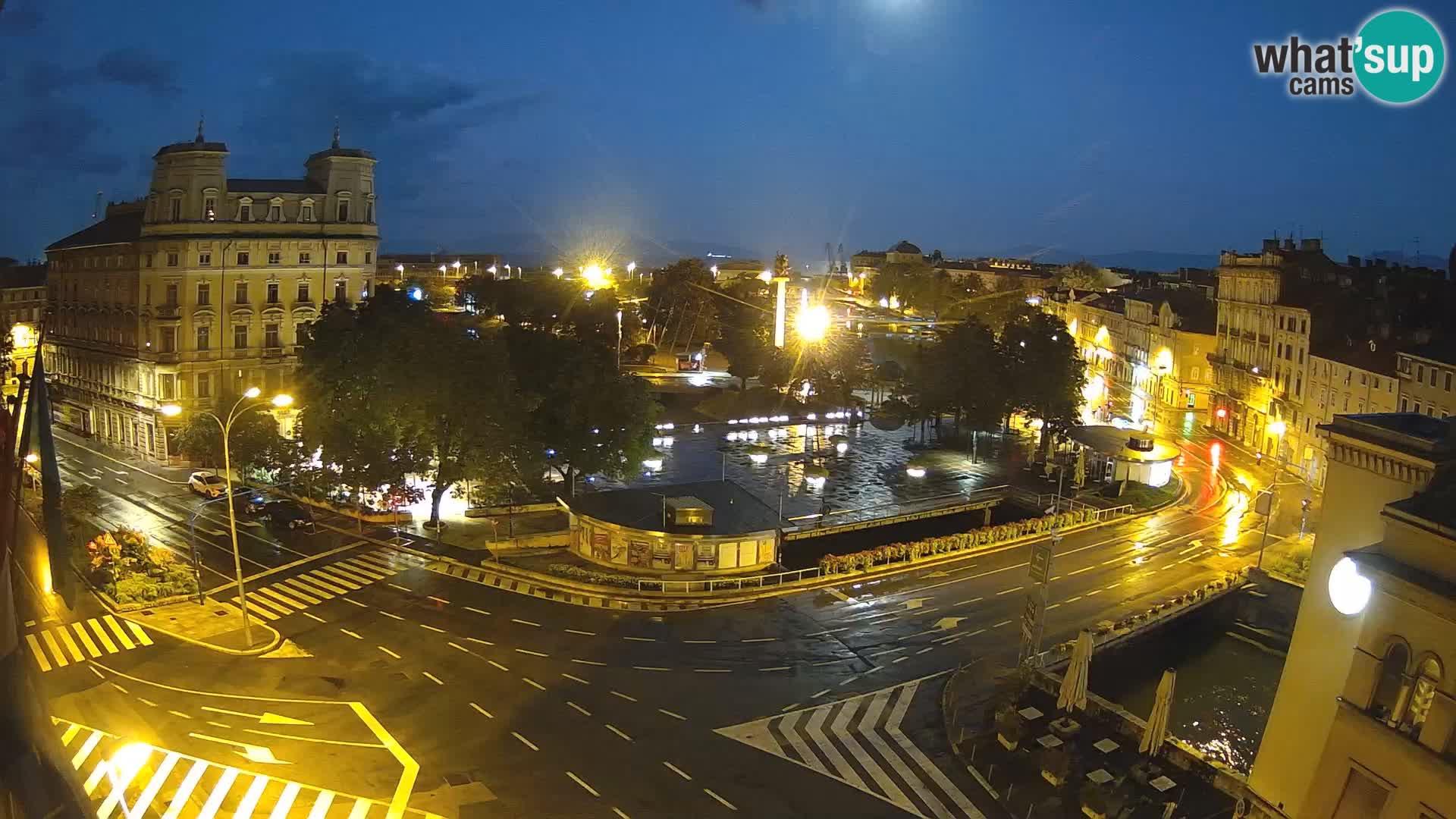 Rijeka – Tito platz und Fiumara