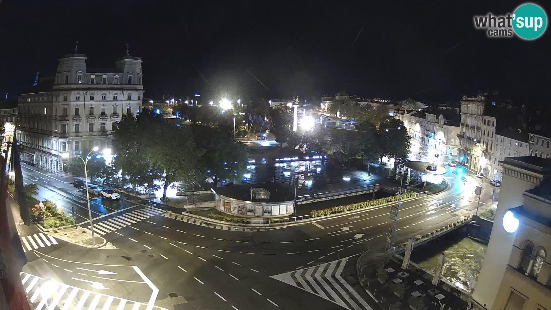 Rijeka – Titov trg in Fiumara