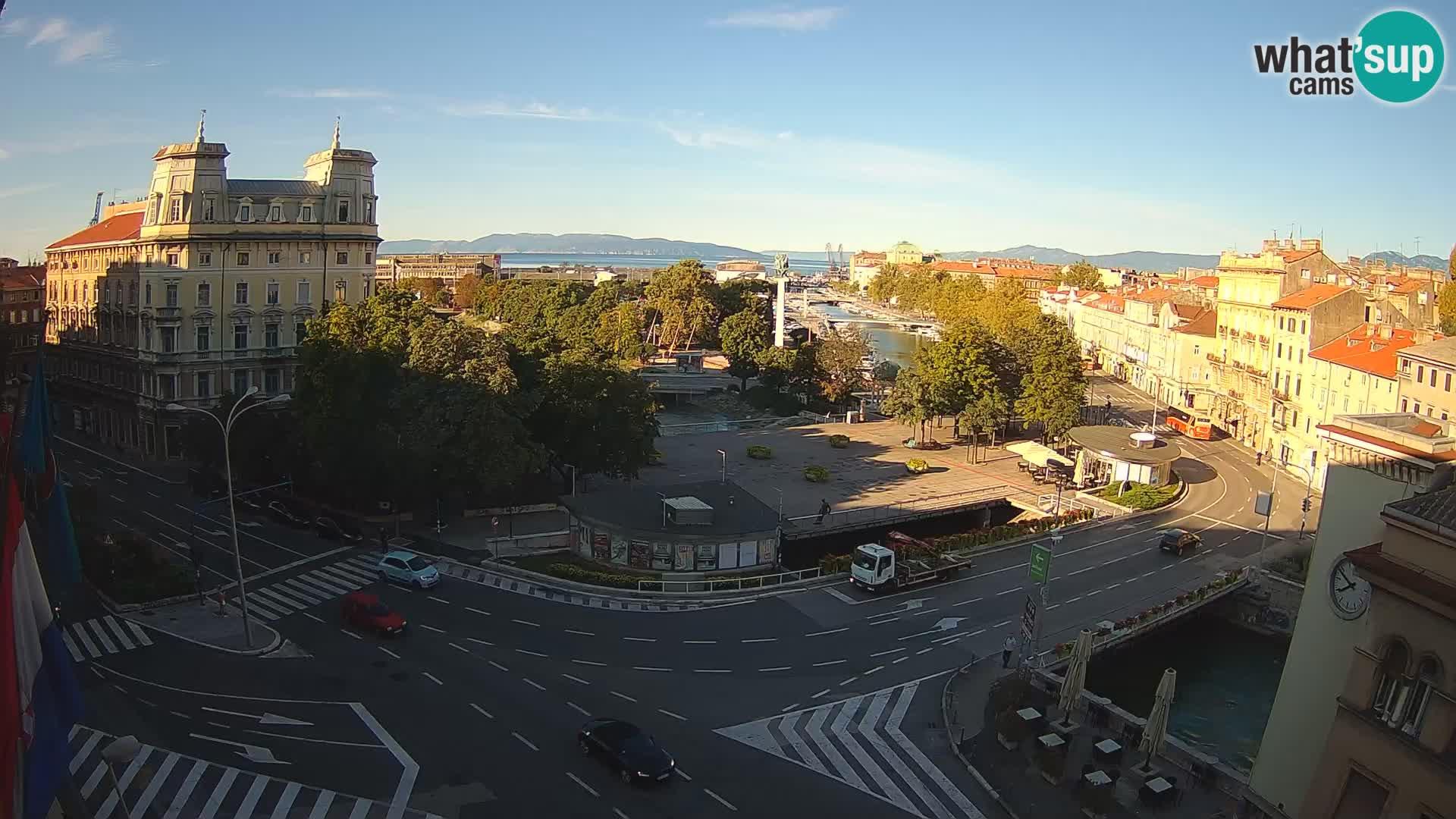 Rijeka – Carré Tito et Fiumara