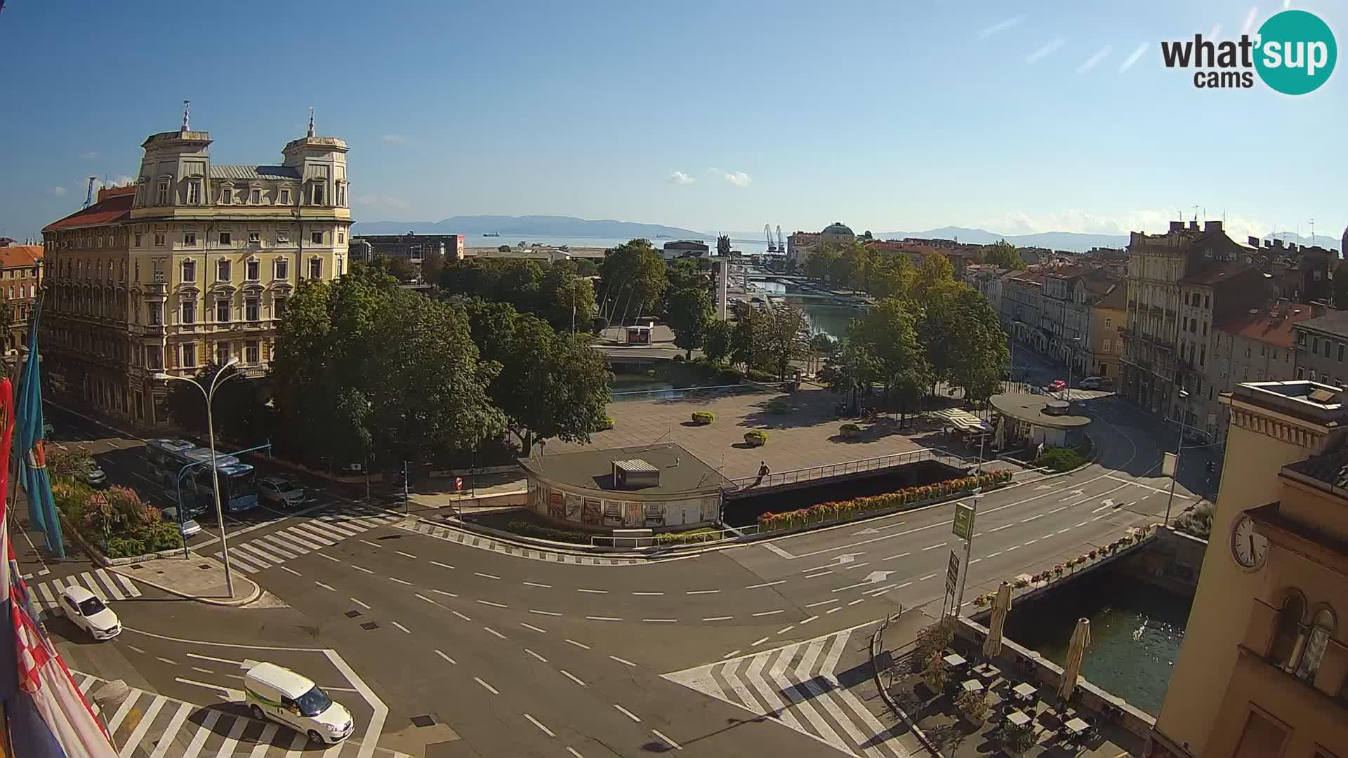 Rijeka – Plaza Tito e Fiumara