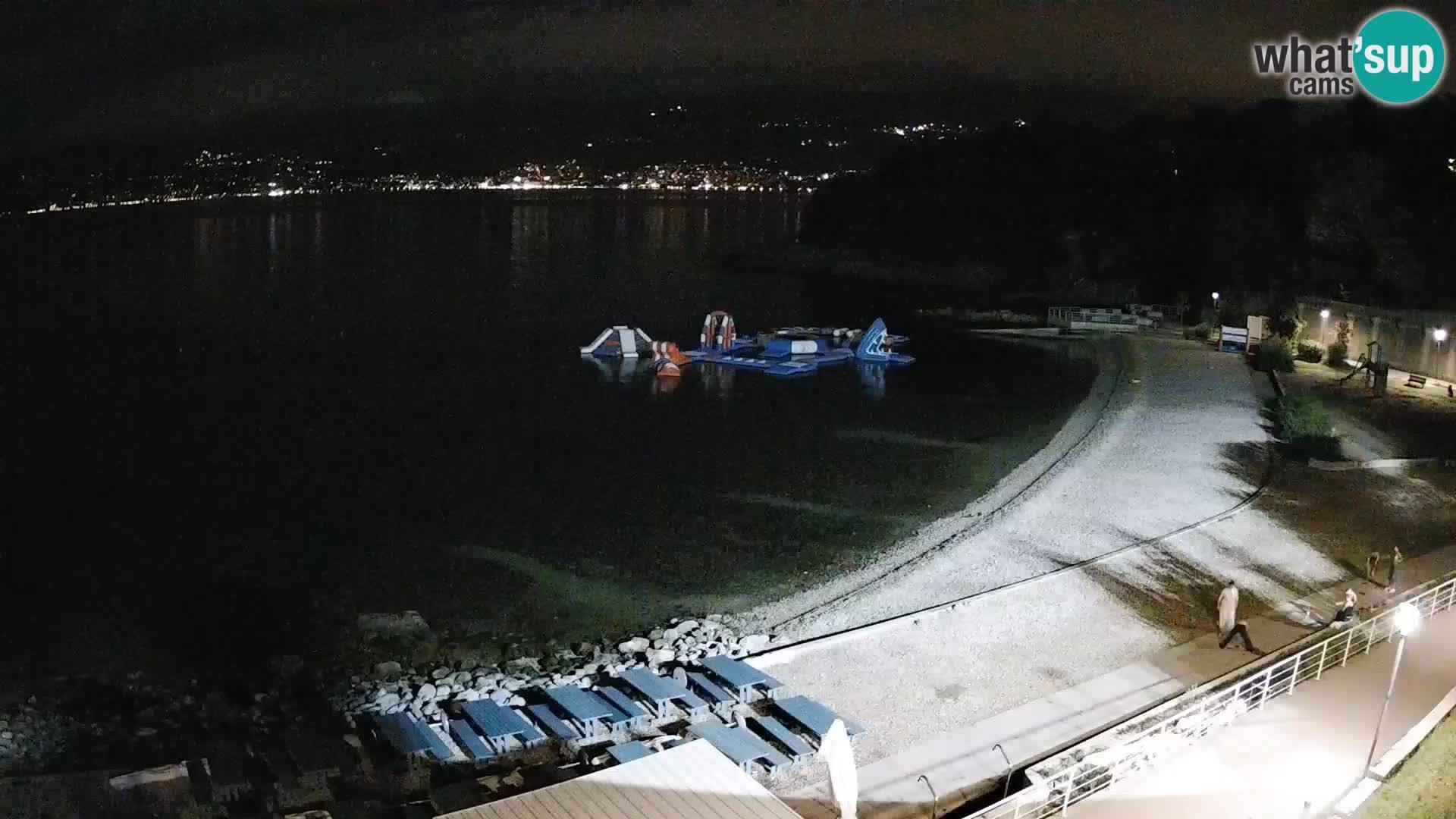 Rijeka Camera en vivo playa piscinas Kantrida