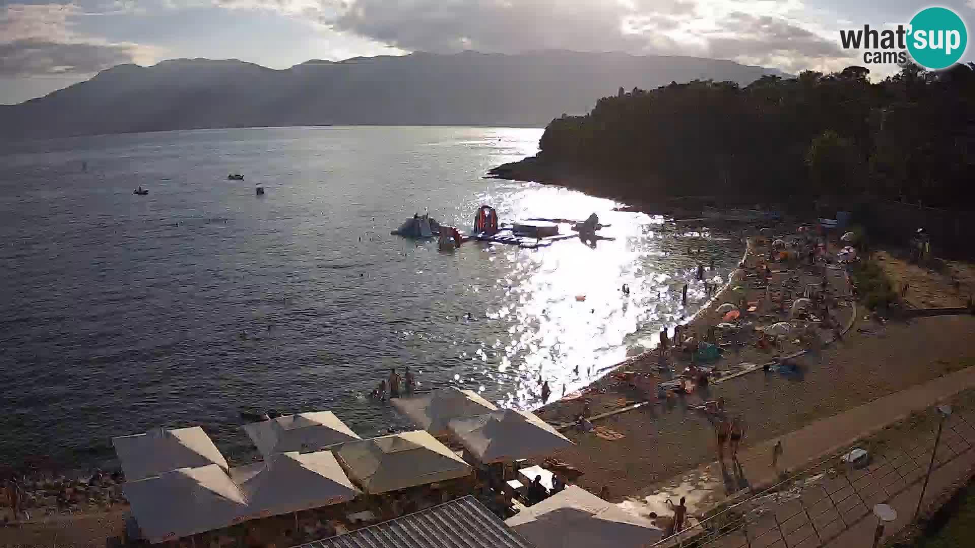 LIVE Webcam Rijeka beach Swimming pools Kantrida