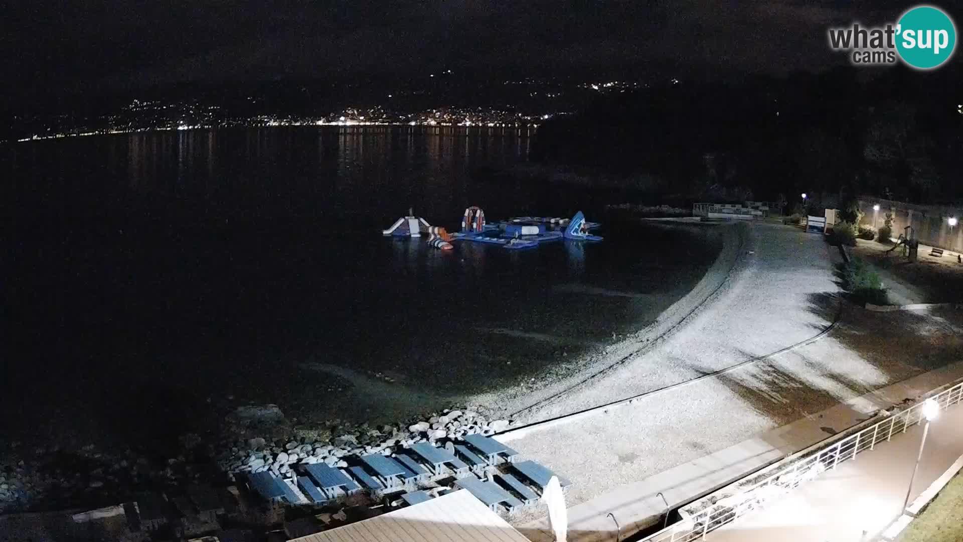 Rijeka Live webcam piscinas de playa Kantrida