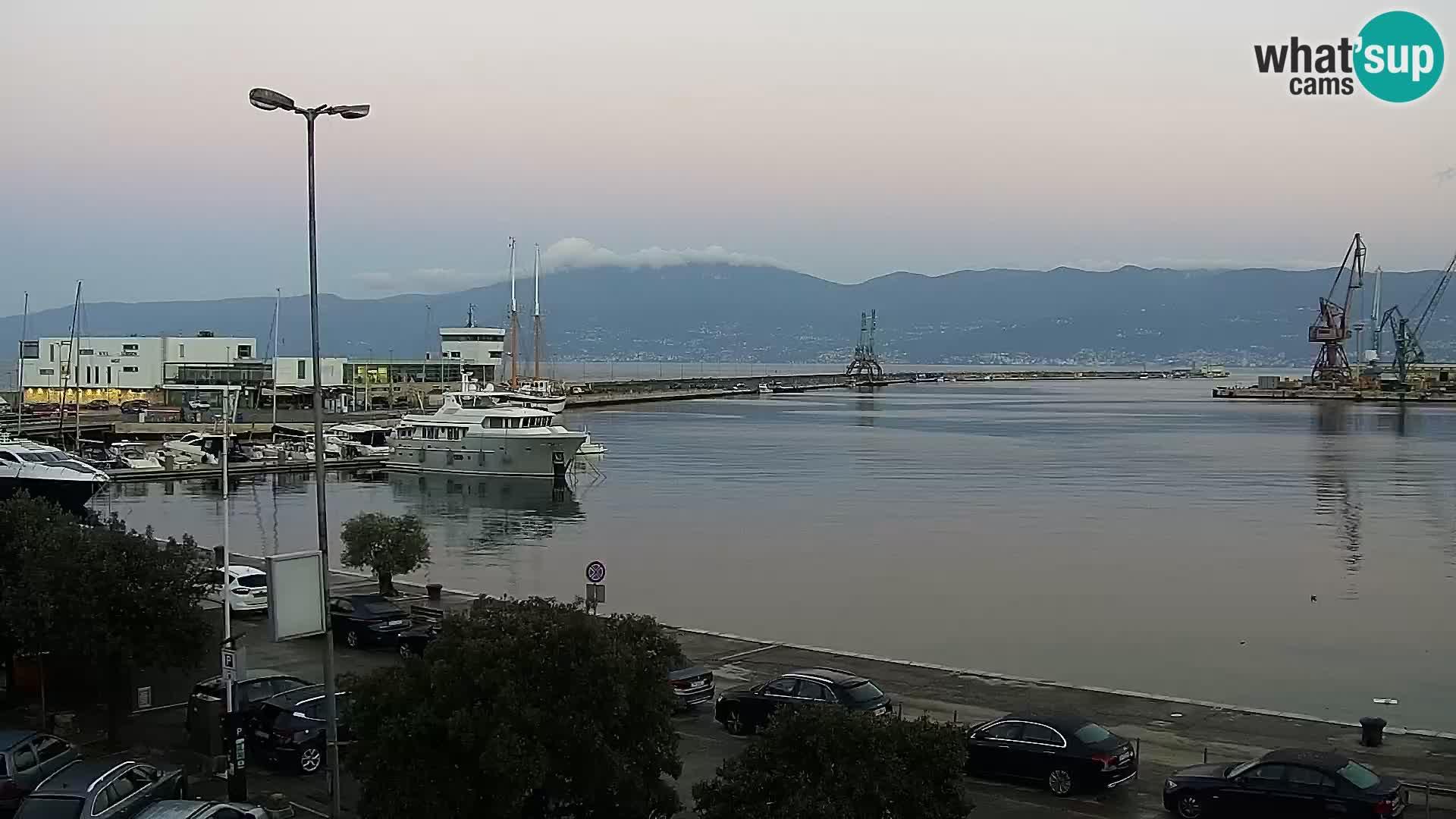 Webcam European Coastal Airlines – Rijeka