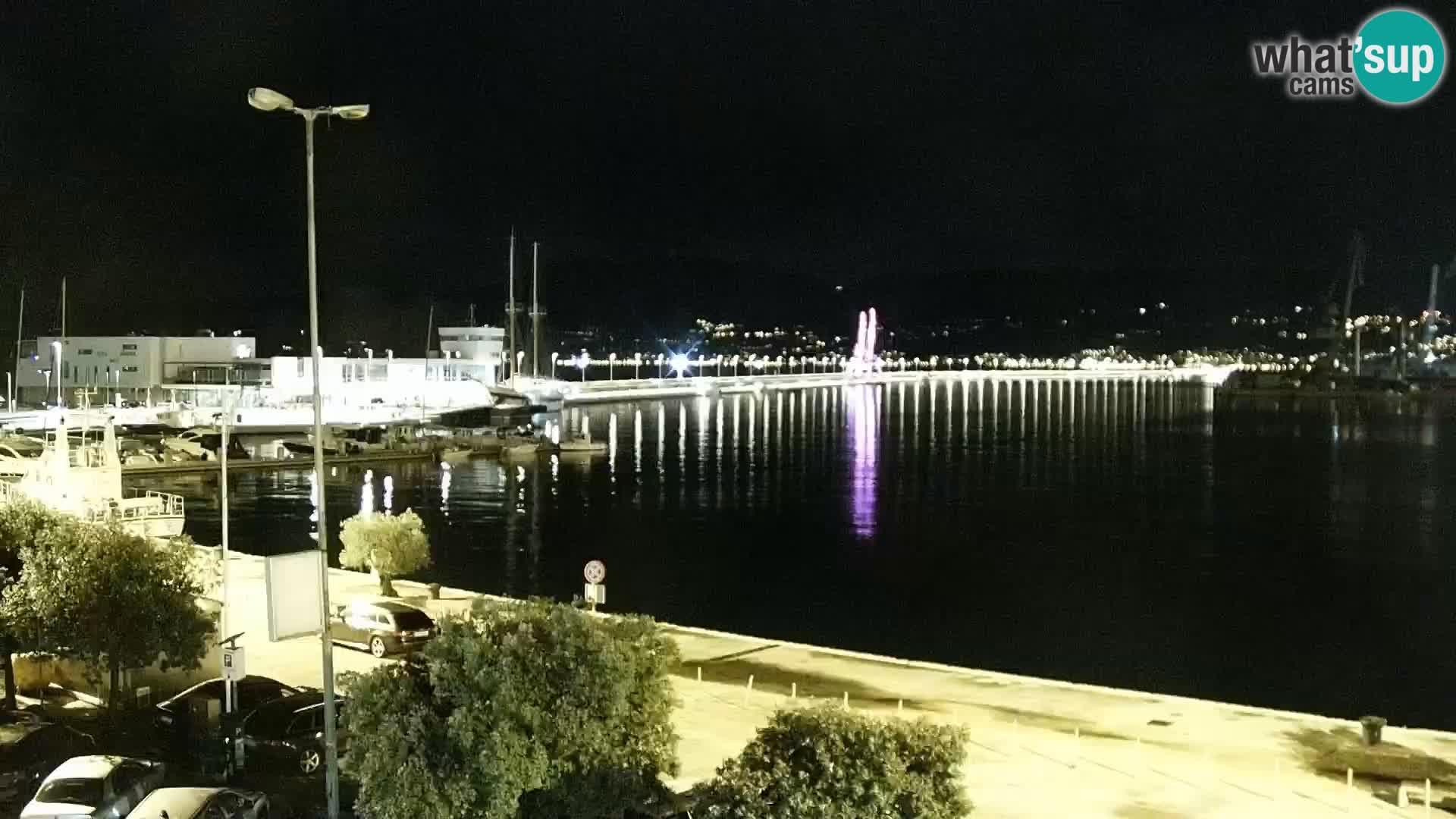 Fiume – Il porto e la Riva