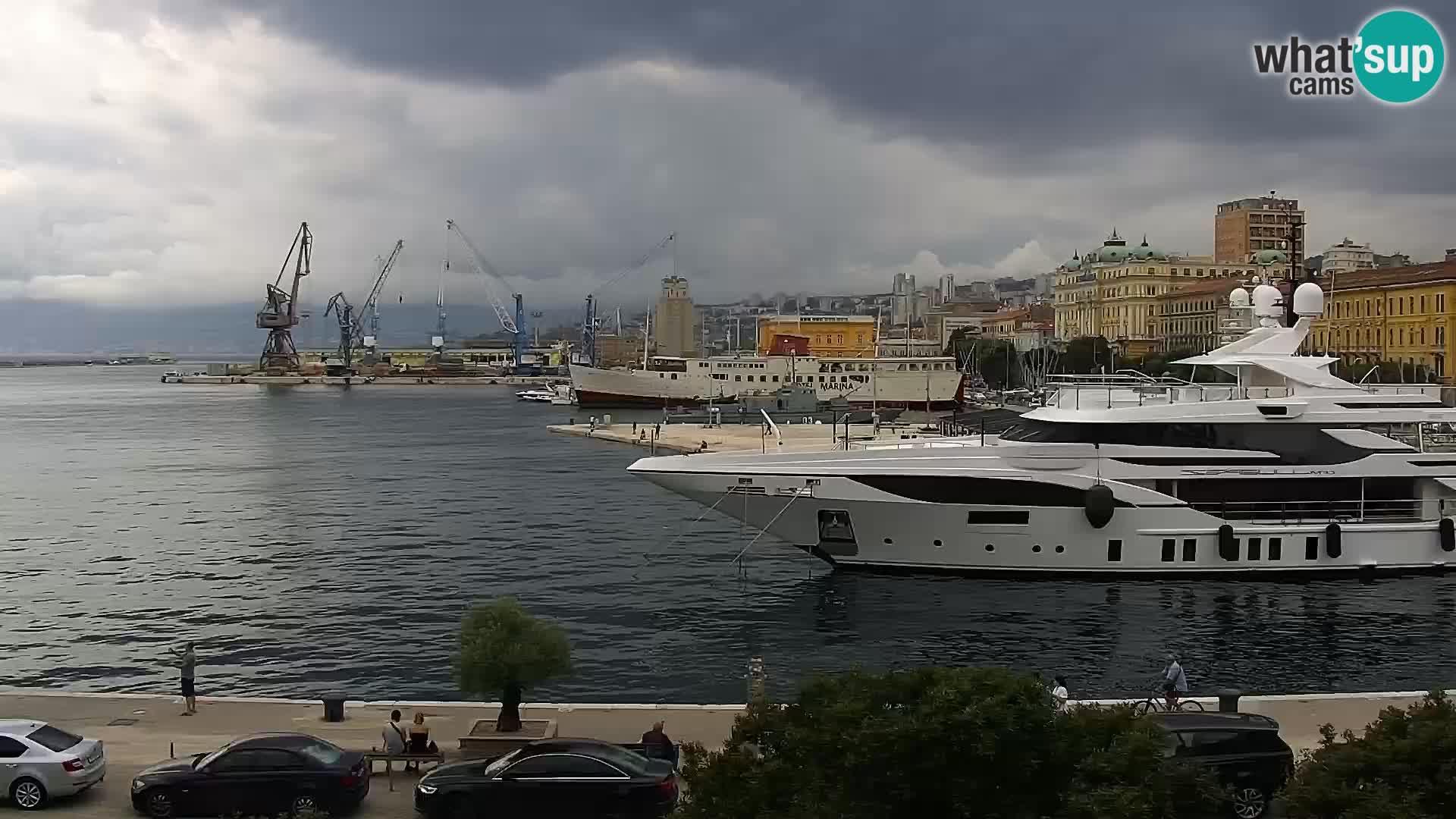 Rijeka – port et Riva