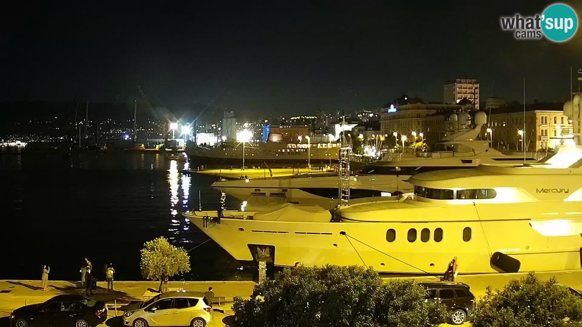 Rijeka – Riva and port