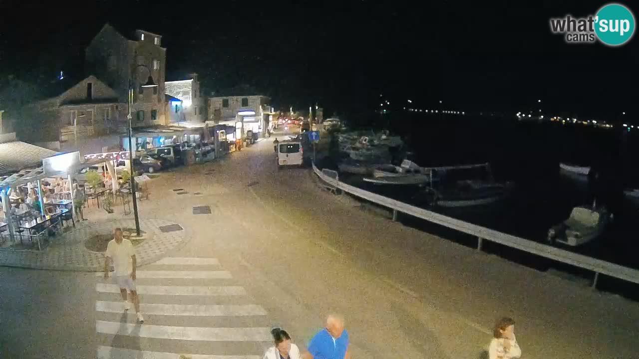 L'île de Rogoznica Livecam Croatie