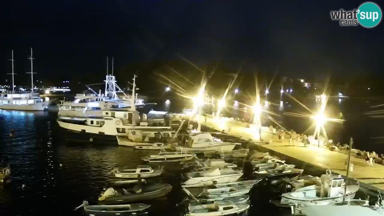 Promenade e marina a Rovinj
