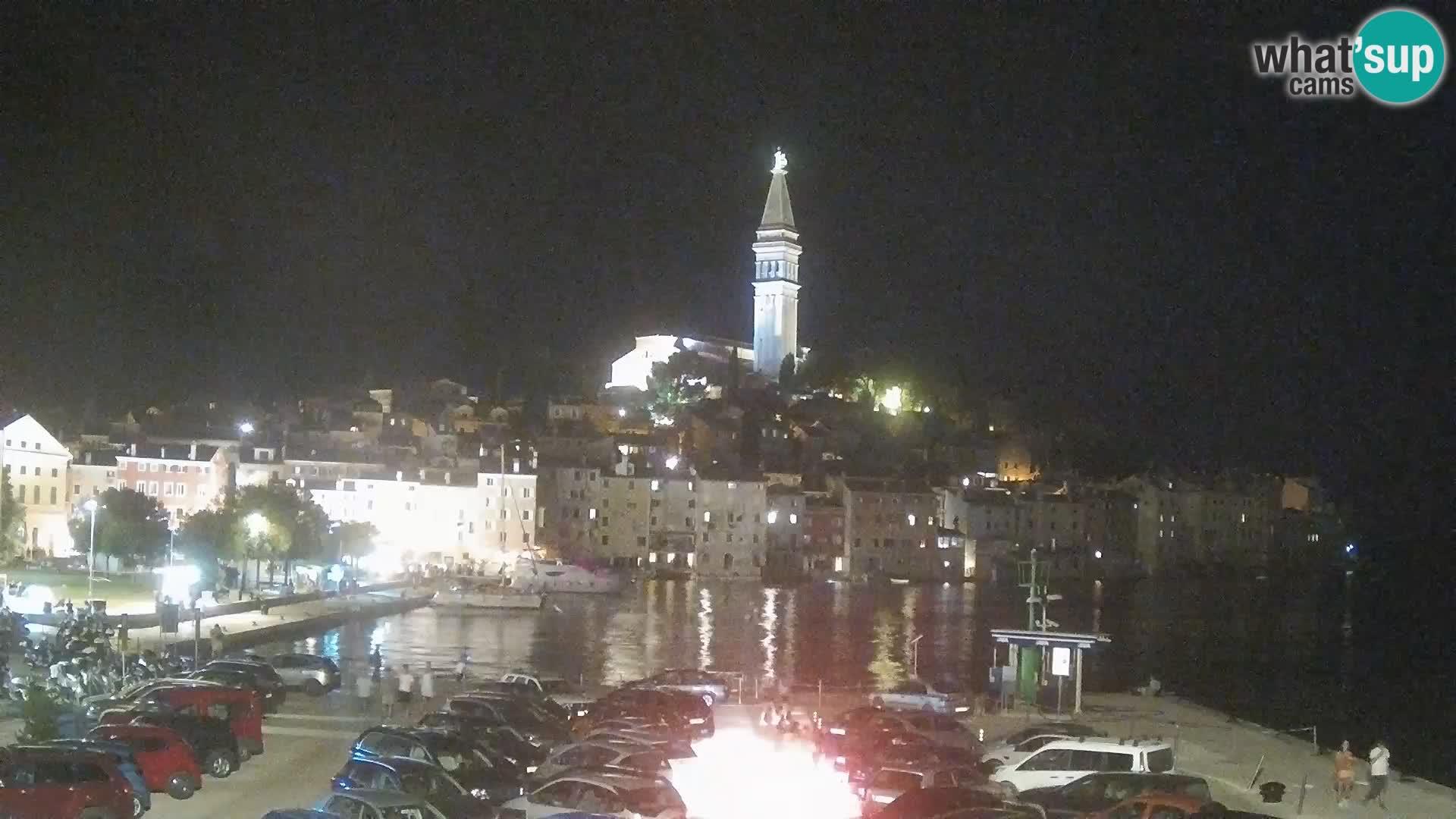 Webcam live Rovinj – panorama de la ville