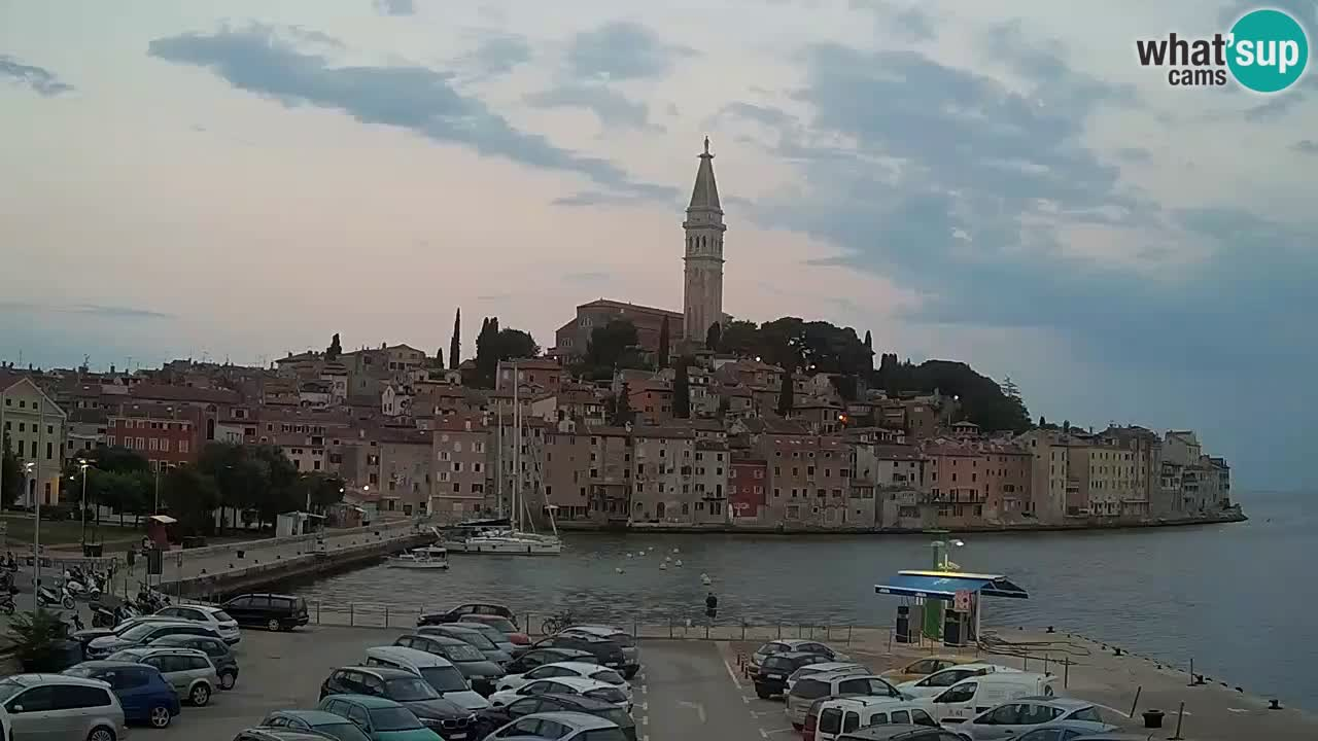 Spletna kamera Rovinj – panorama mesta