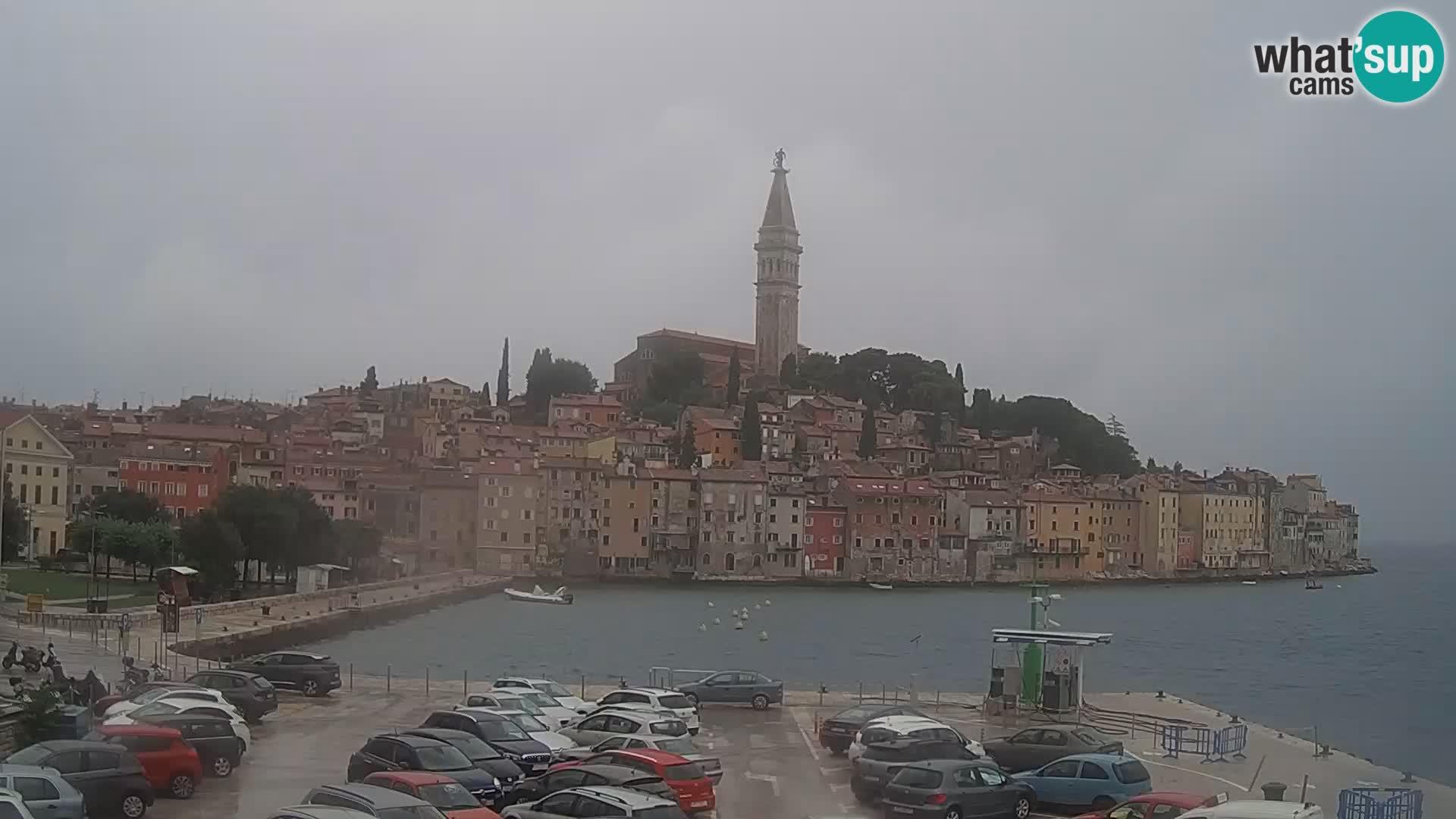 Webcam Rovinj – panorama de la ciudad