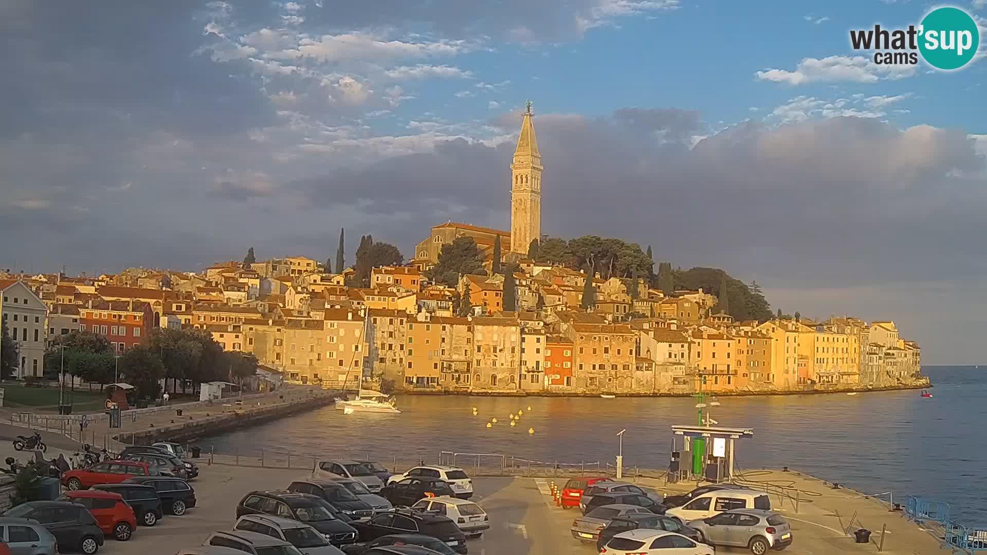 Webcam Rovinj – panorama of city
