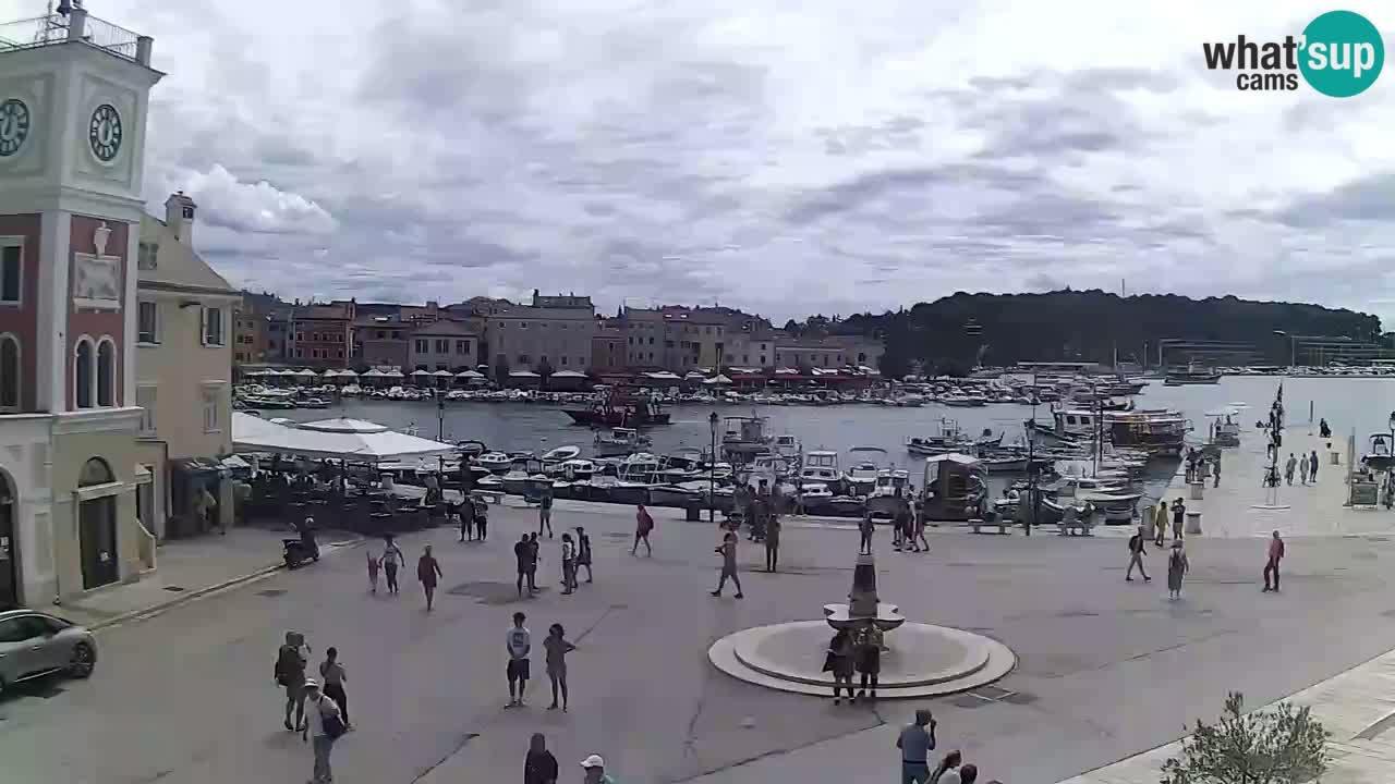 Rovinj live cam – the main square