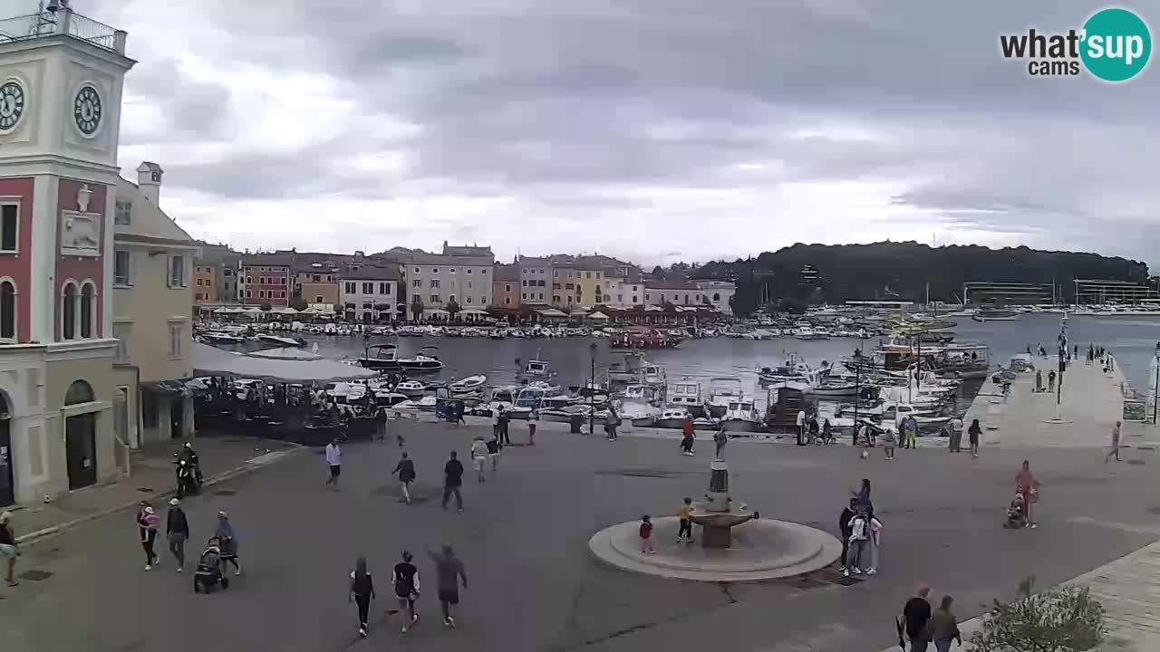 Rovinj – plaza principal