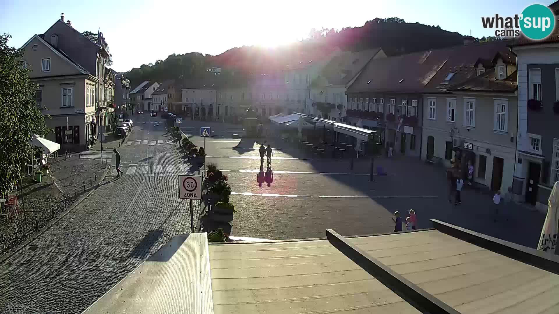 Samobor – Piazza centrale dedicata a re Tomislav