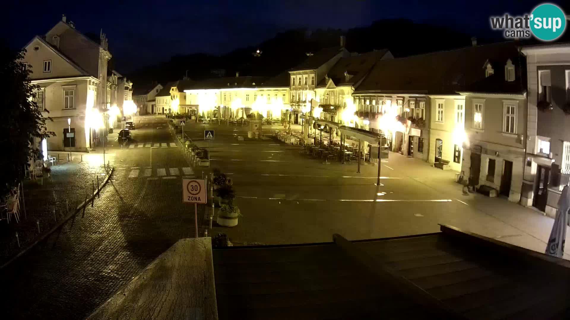 Samobor – Main square dedicated to King Tomislav