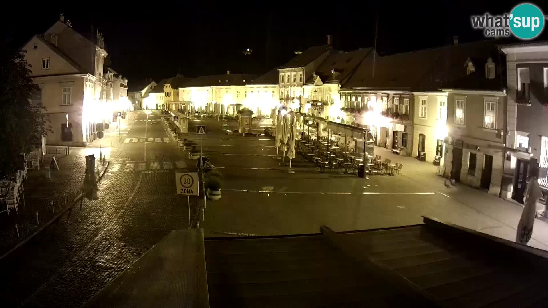 Samobor – Plaza central dedicado al rey Tomislav
