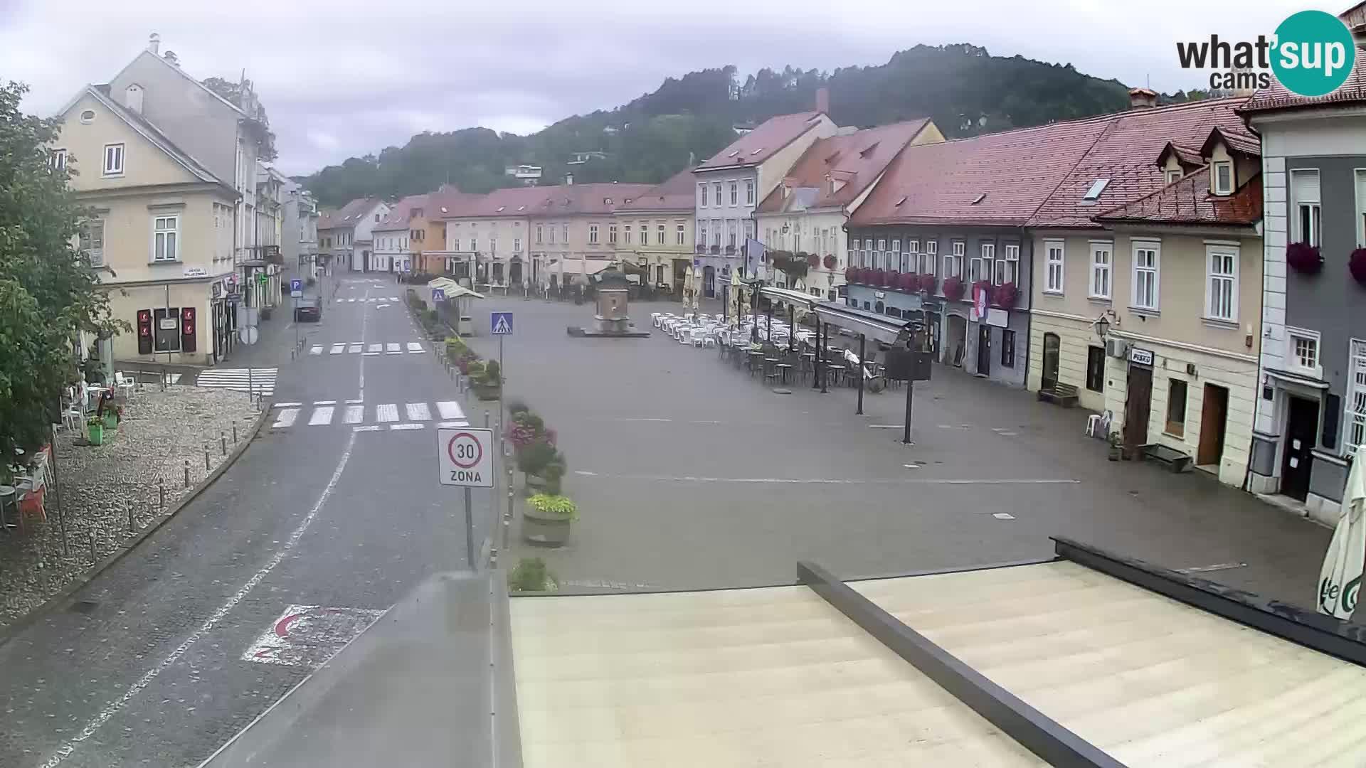 Samobor – Zentralen Platz von König Tomislav gewidmet