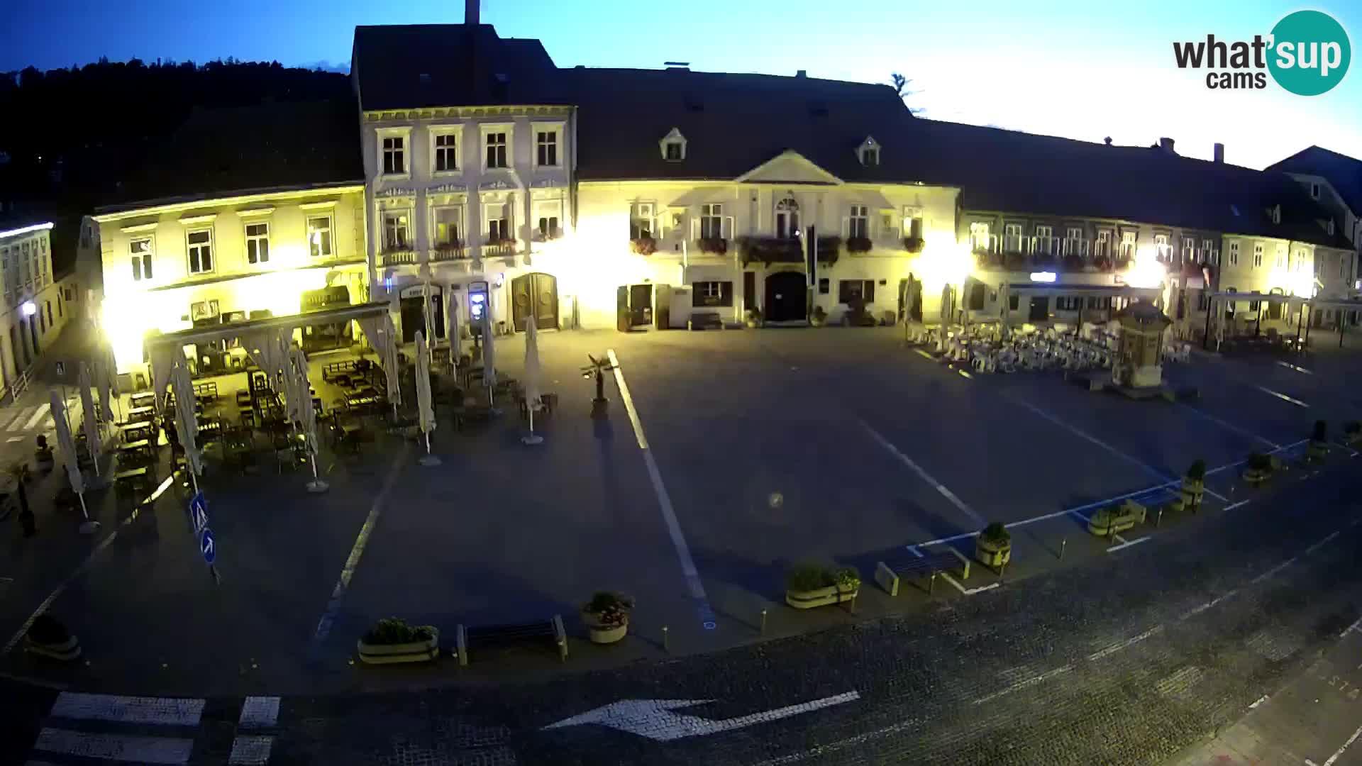 Camera en vivo Samobor – Plaza principal