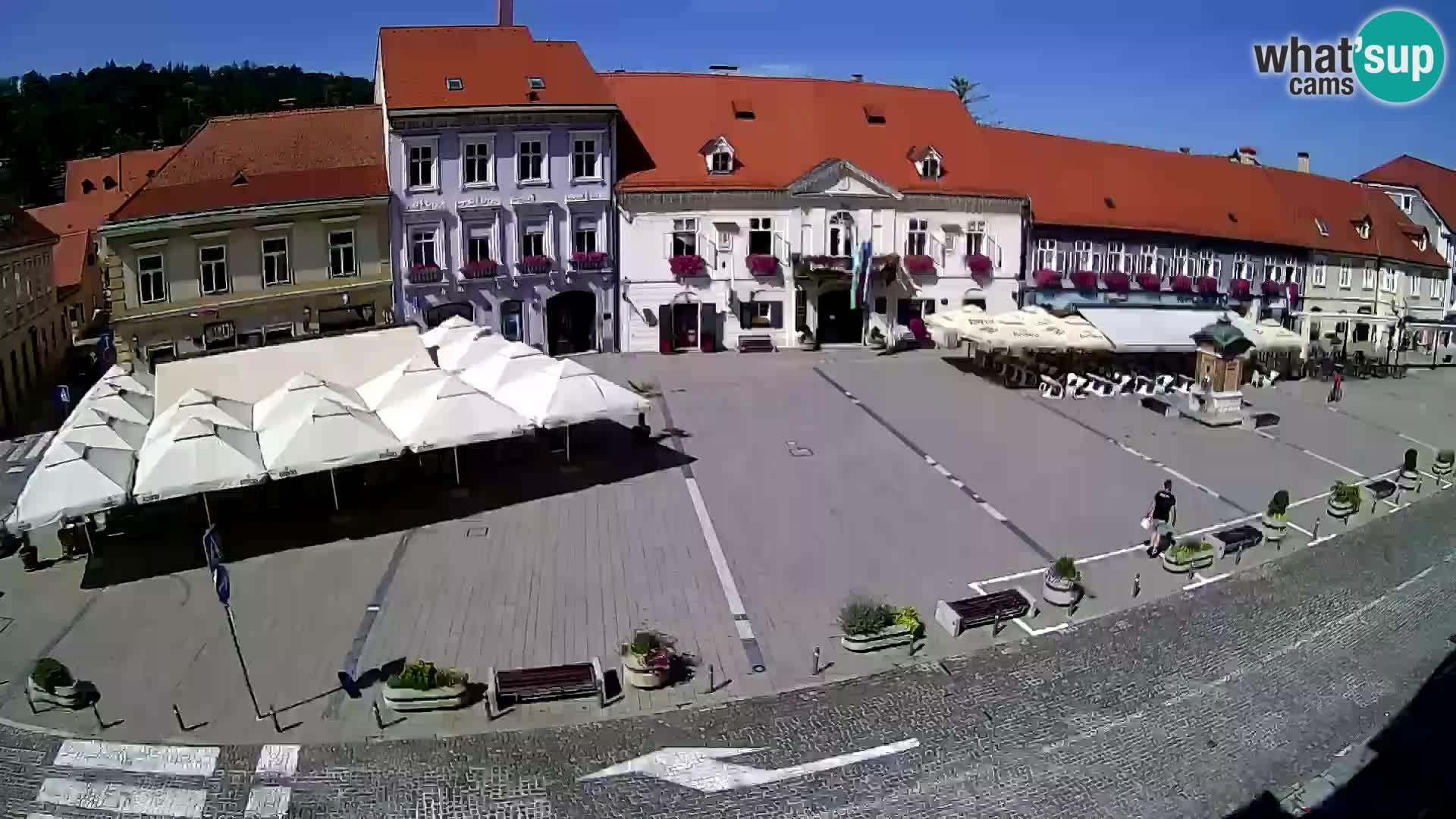 Webcam Samobor – Main square