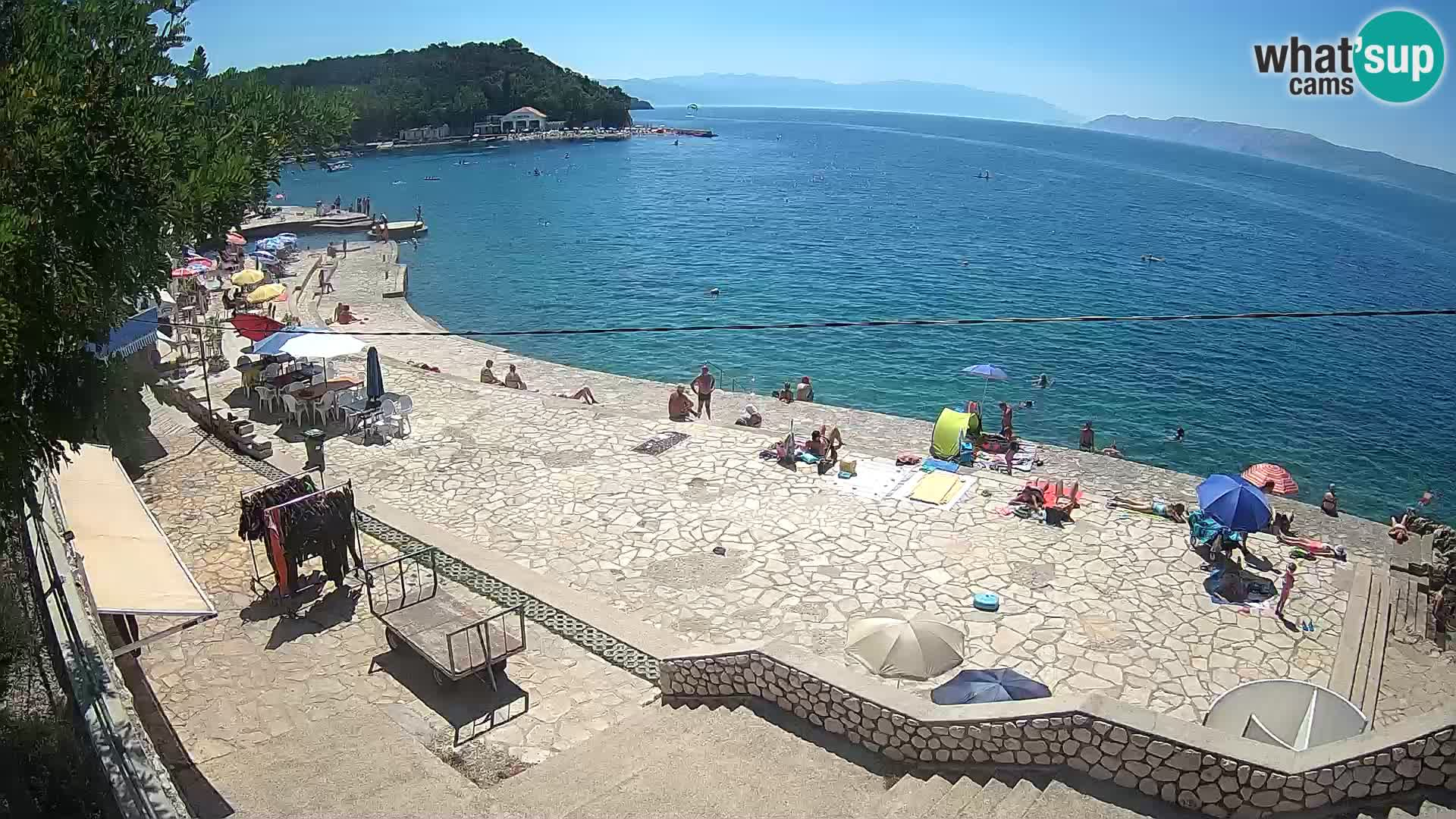 Selce – plaža – Ronilački centar